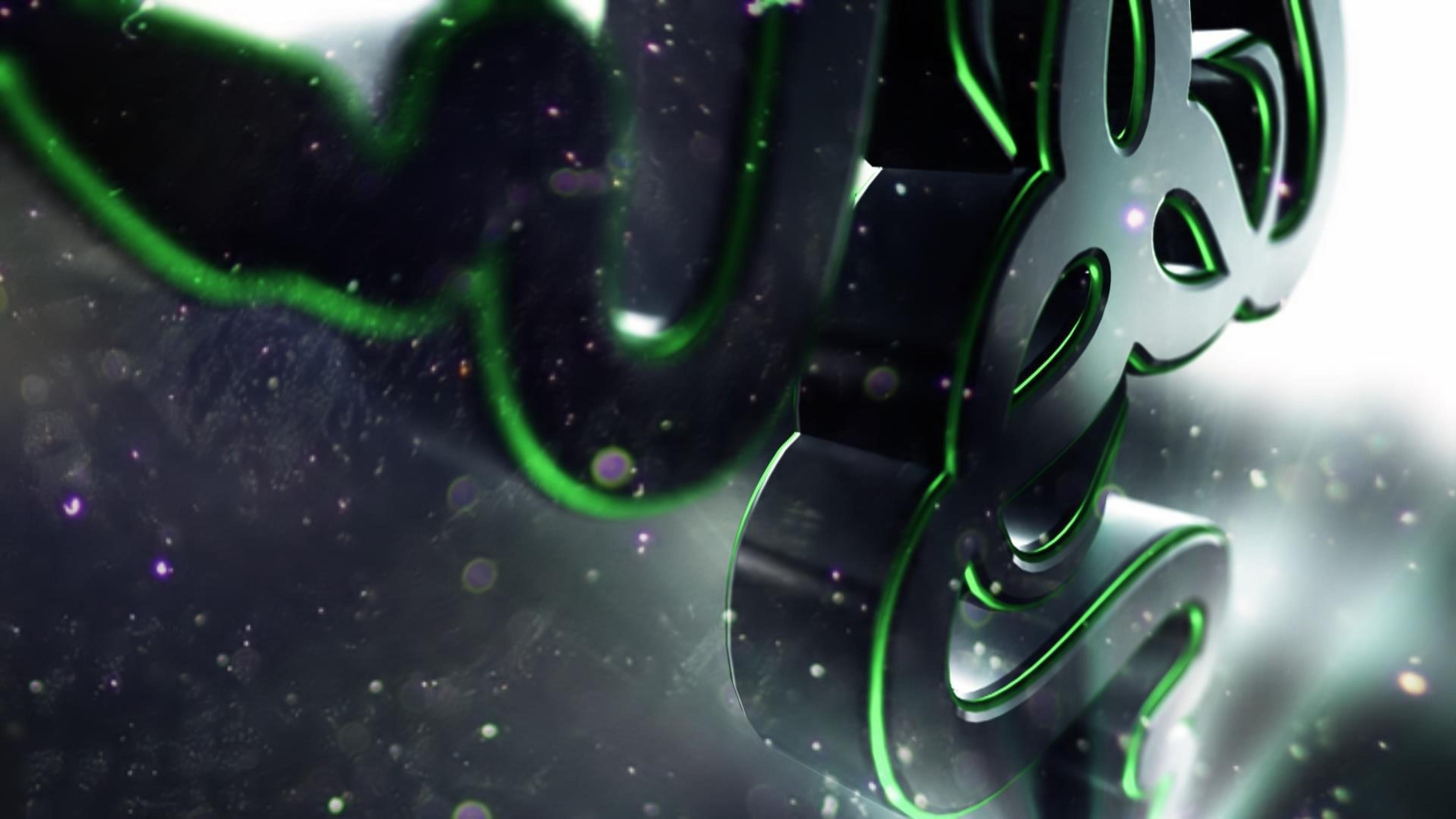 Razer, Logo, Symbol, Shape Wallpaper, Background 4K Ultra .