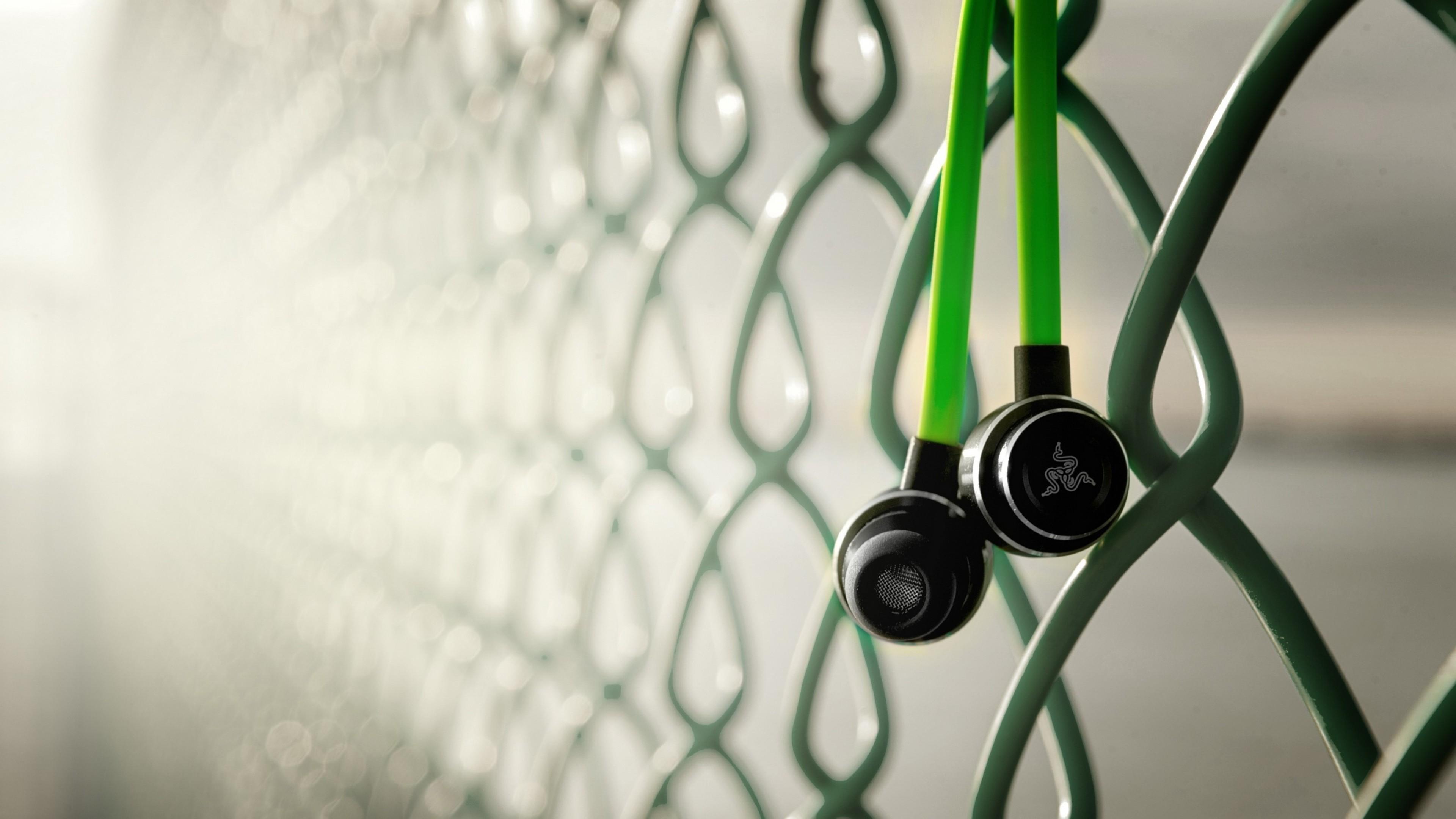 Preview wallpaper razer adaro, razer, headphones 3840×2160