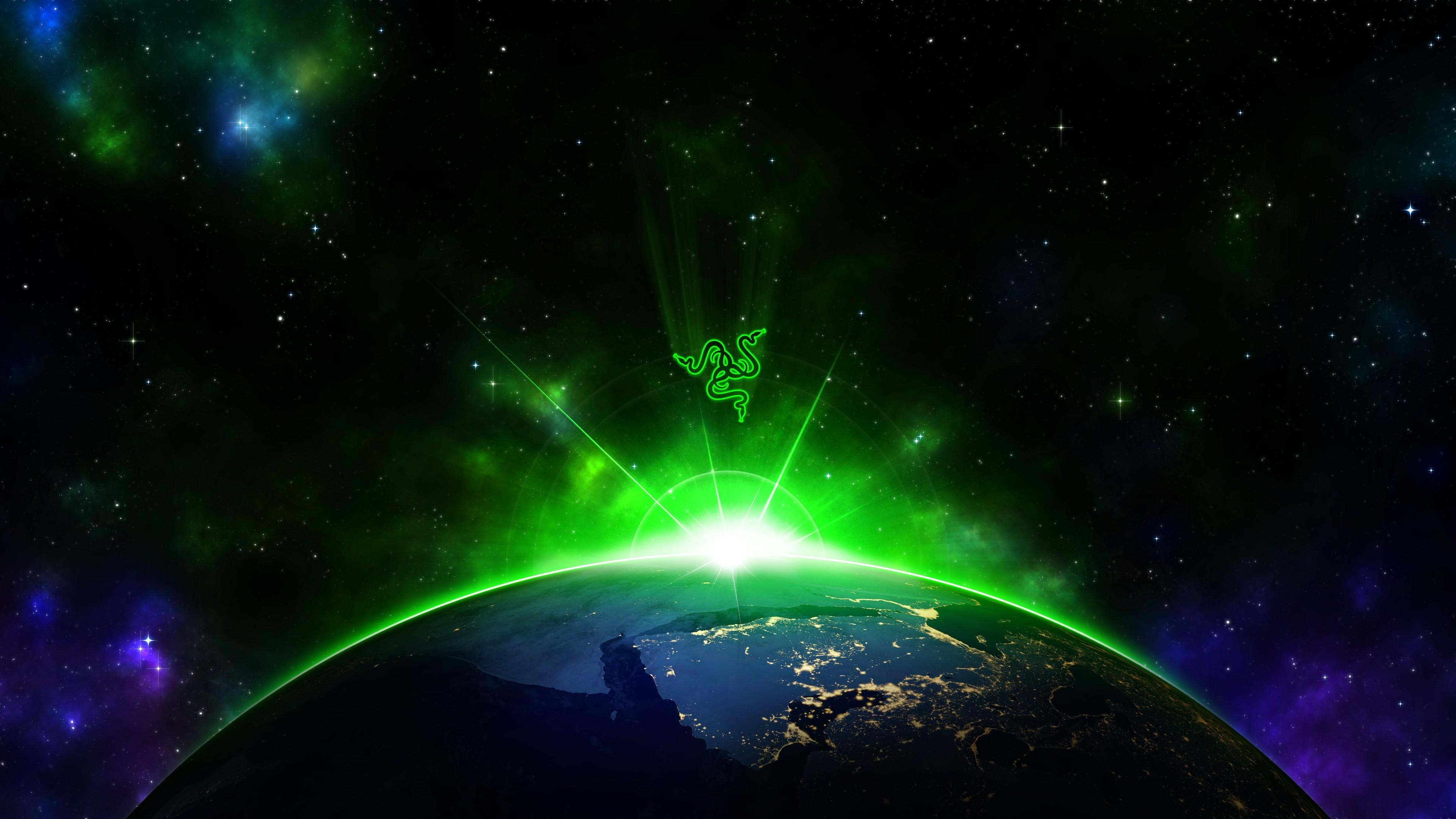 Razer Space 4K Wallpaper