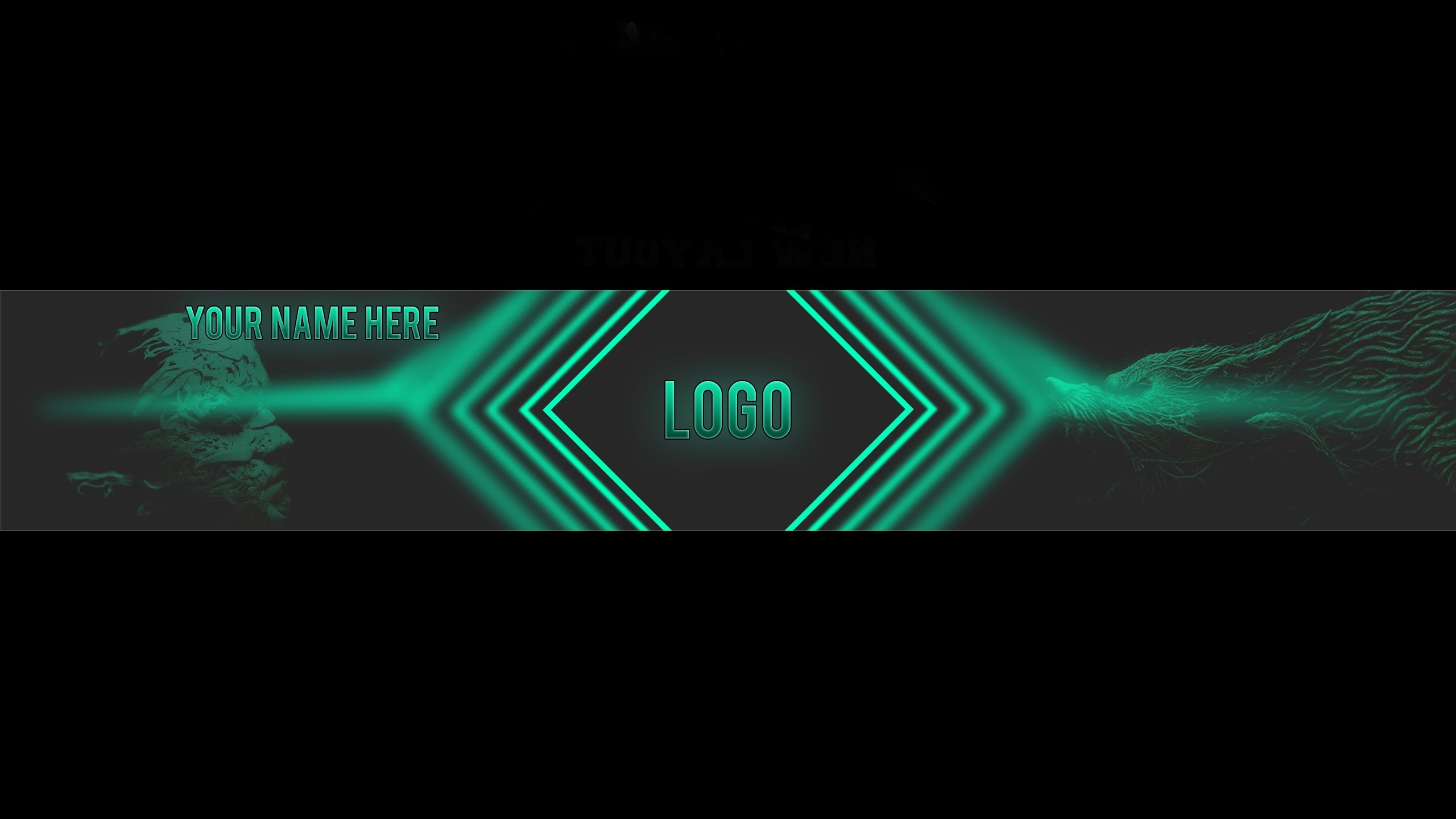 Mysterious youtube channel art template | FREE DOWNLOAD | Fancy Skeleton –  YouTube