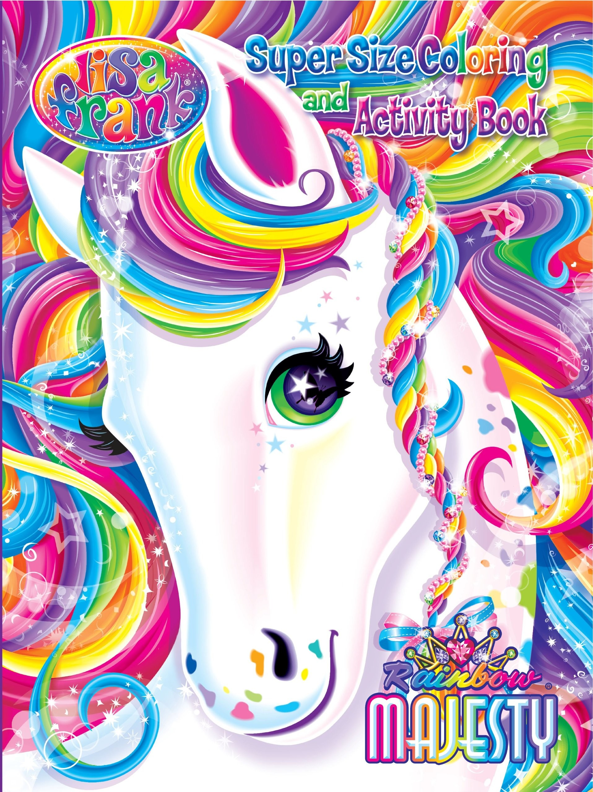 Lisa frank still my favorite coloring book! Love her stickers too!