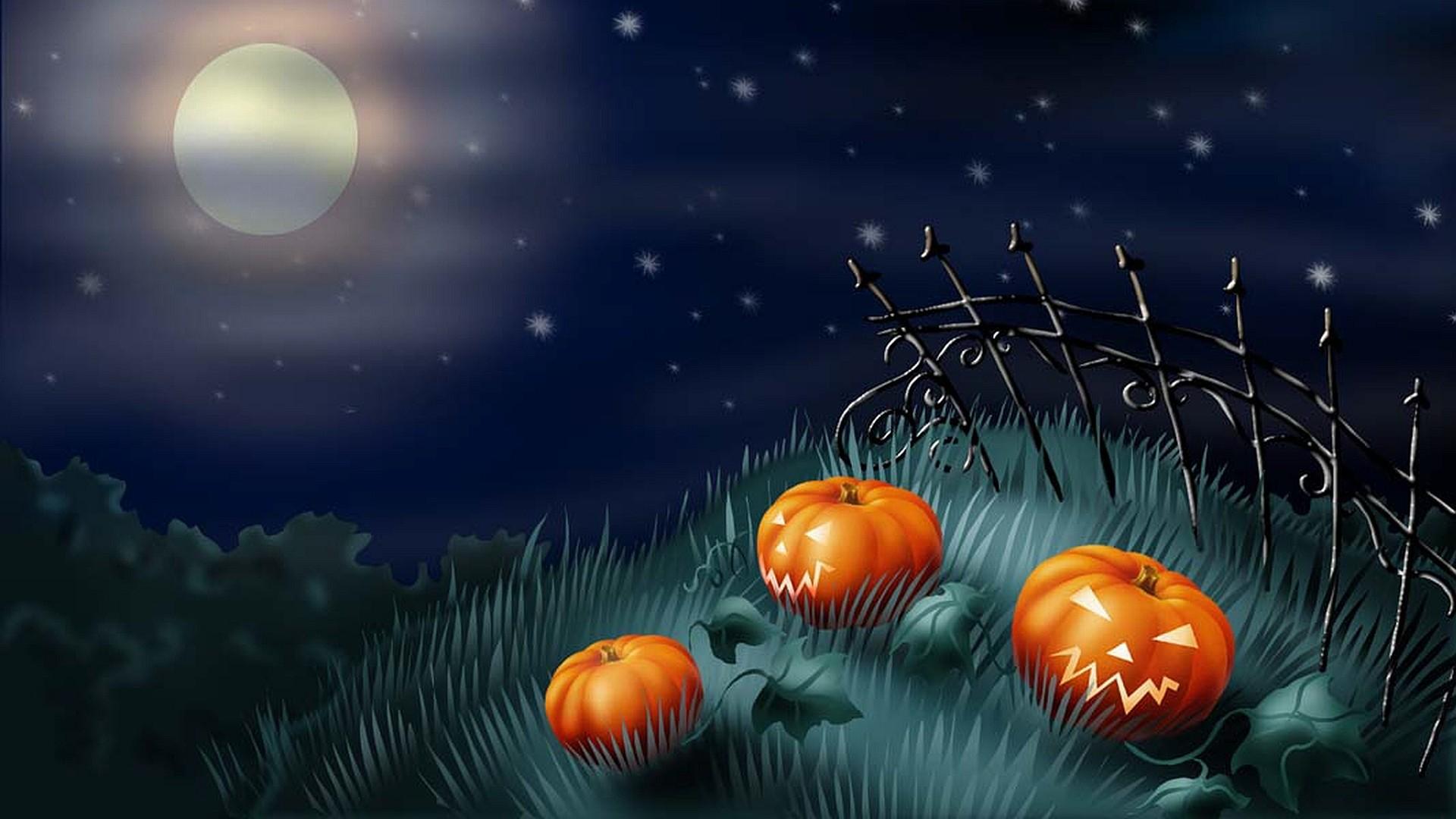 Best halloween night background.