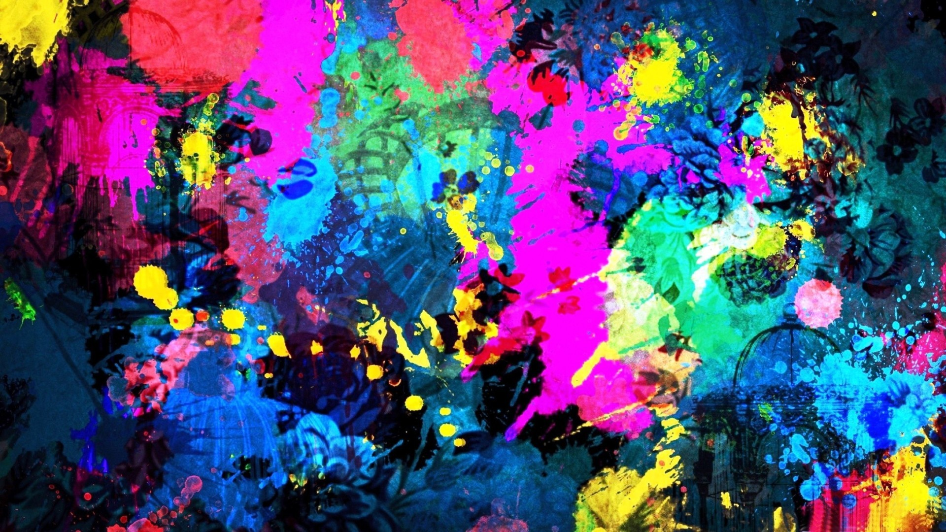 Cool Abstract Art Backgrounds HD Wallpaper