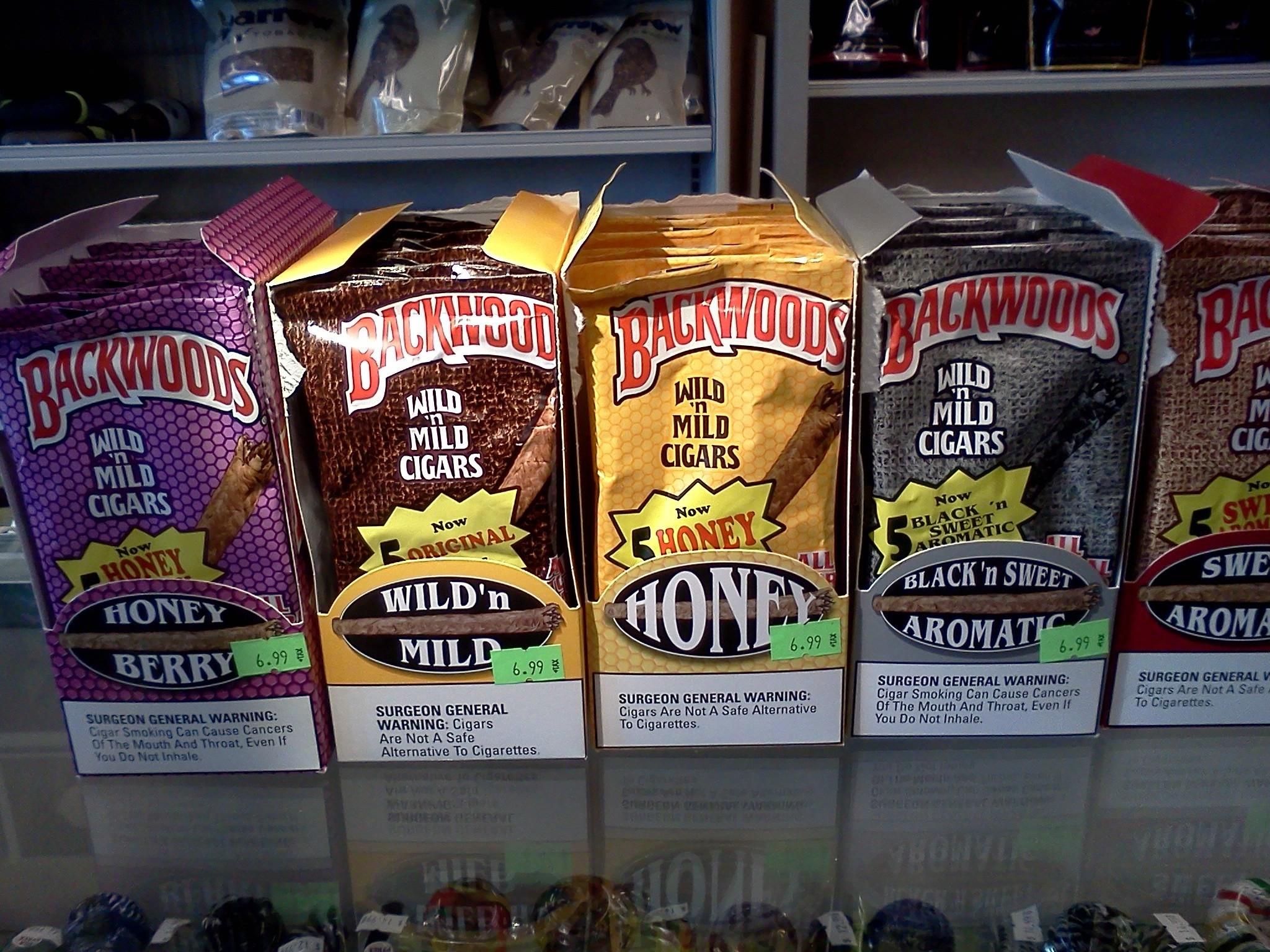 Backwoods Tobacco Djarum Cigars @ Smoke Shop, etc., Richland, Washington