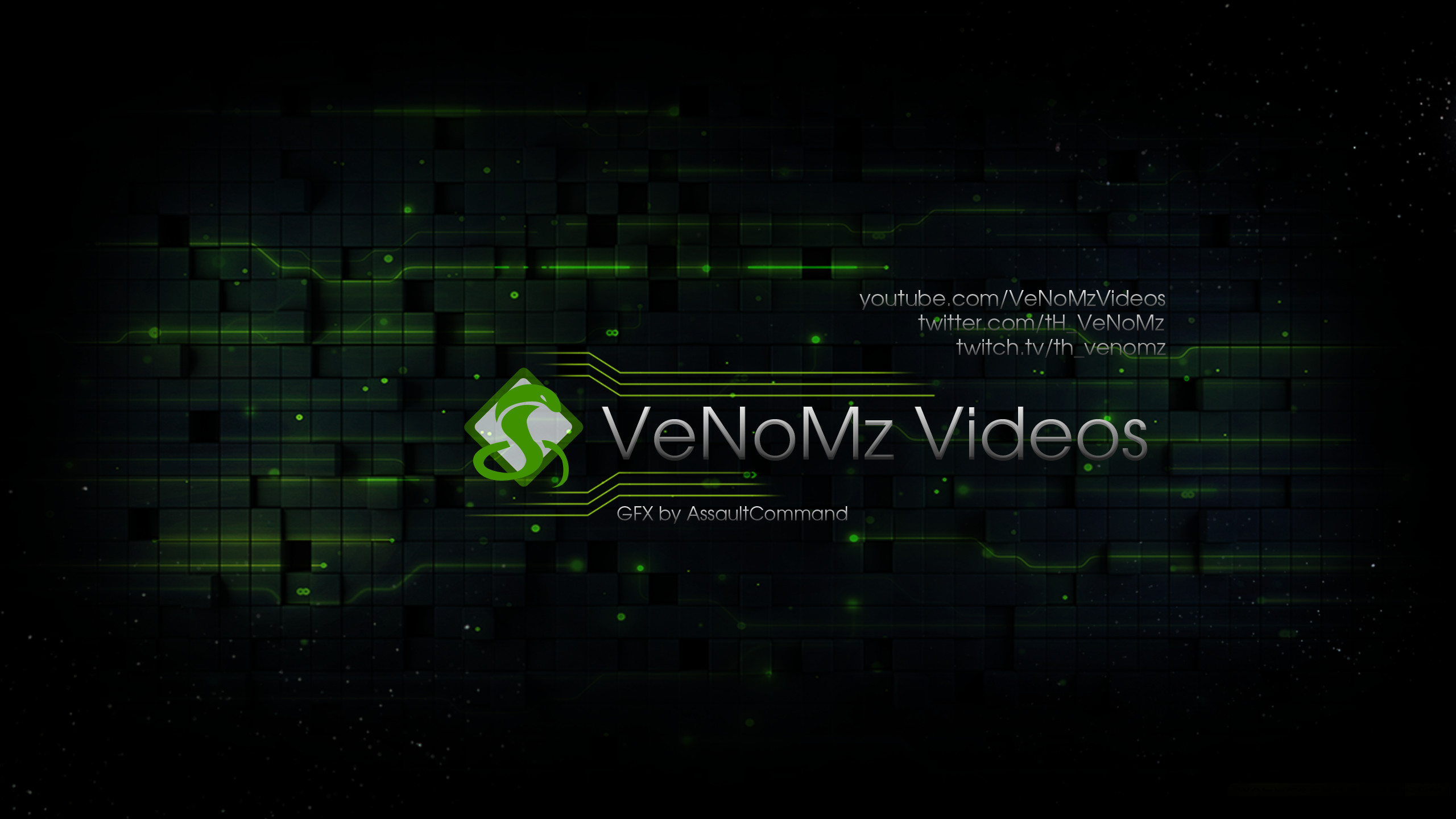 VeNoMz Videos – Youtube banner/Wallpaper by Floodgrunt on DeviantArt
