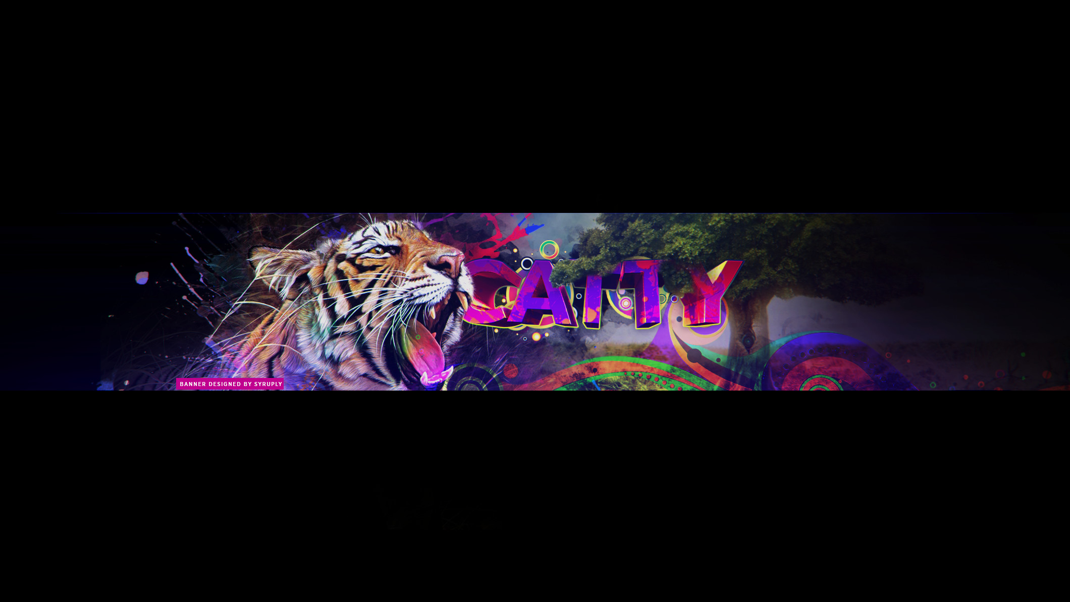 … Catty YouTube Banner (client) by Syruply