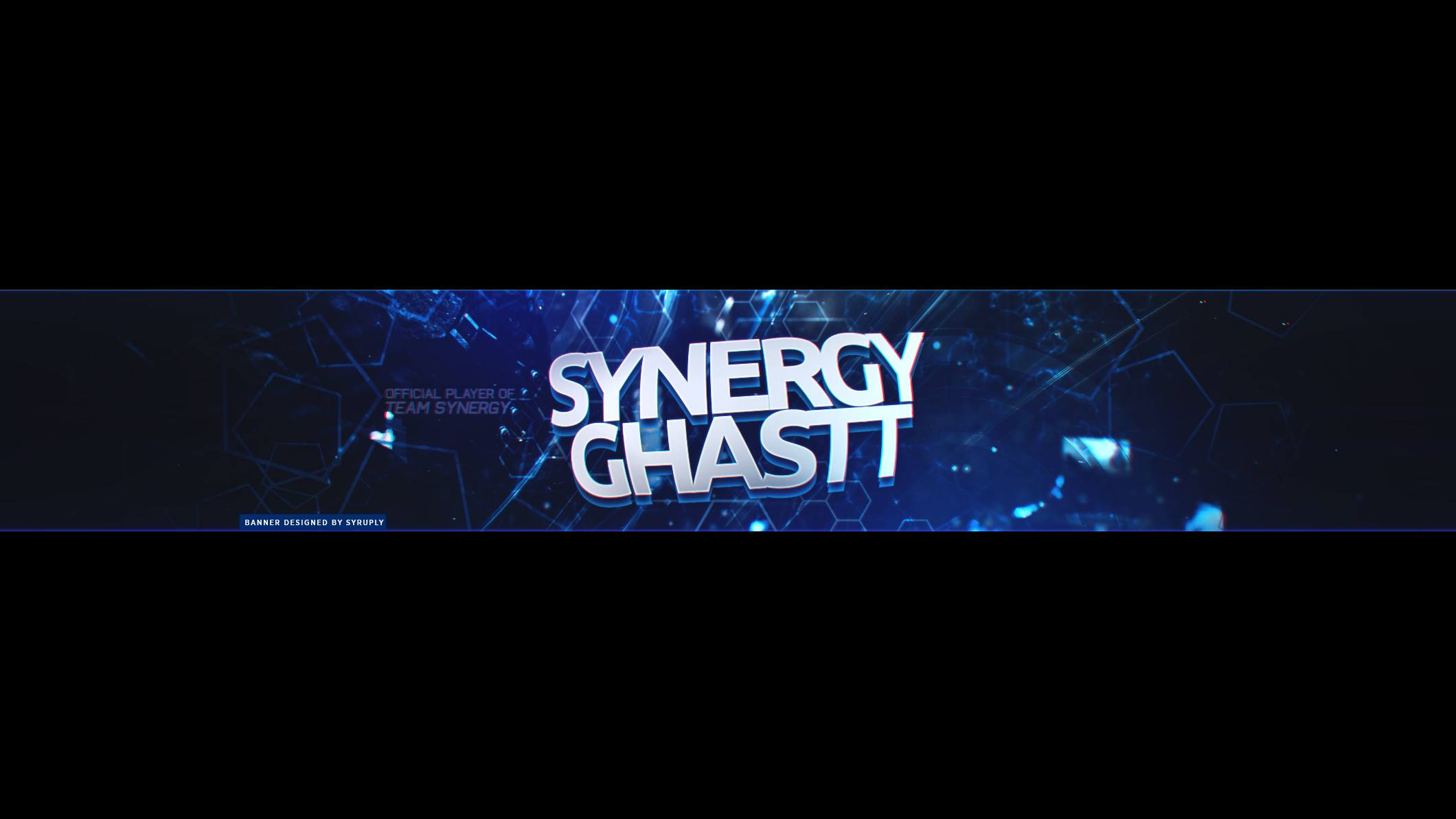 Synergy Ghastt YouTube Banner by Syruply Synergy Ghastt YouTube Banner by  Syruply