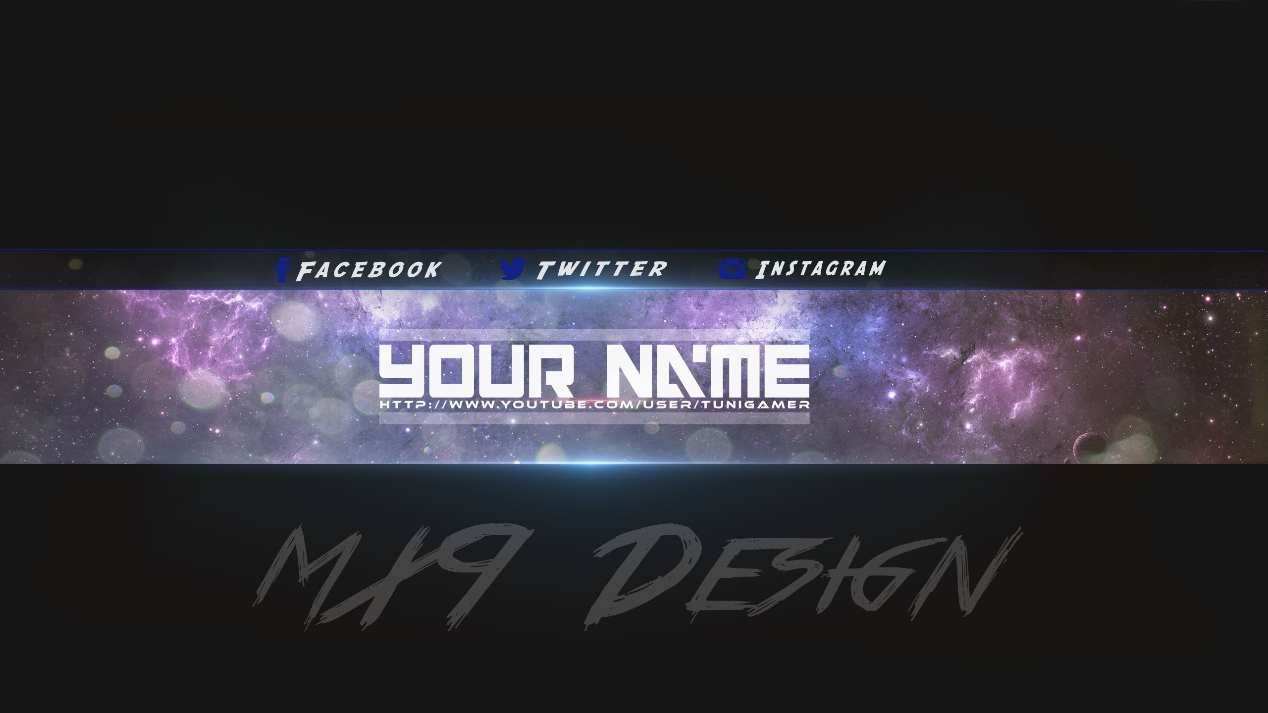 [SpeedArt] FREE Amazing Youtube Channel Banner Template #3 + Direct  Download Link – YouTube