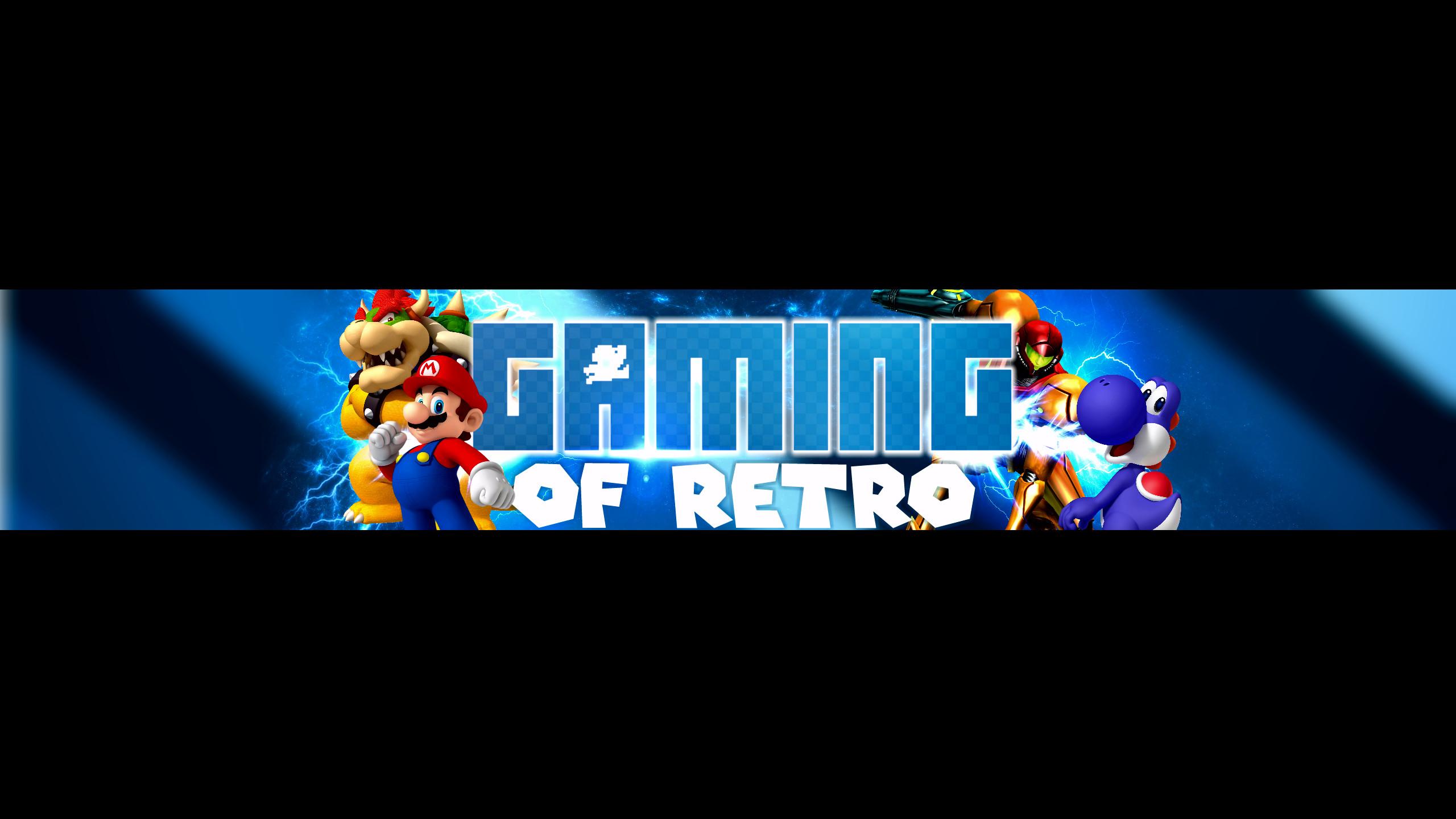 … Gaming of Retro – YouTube Banner by NitroRex by NitroRex