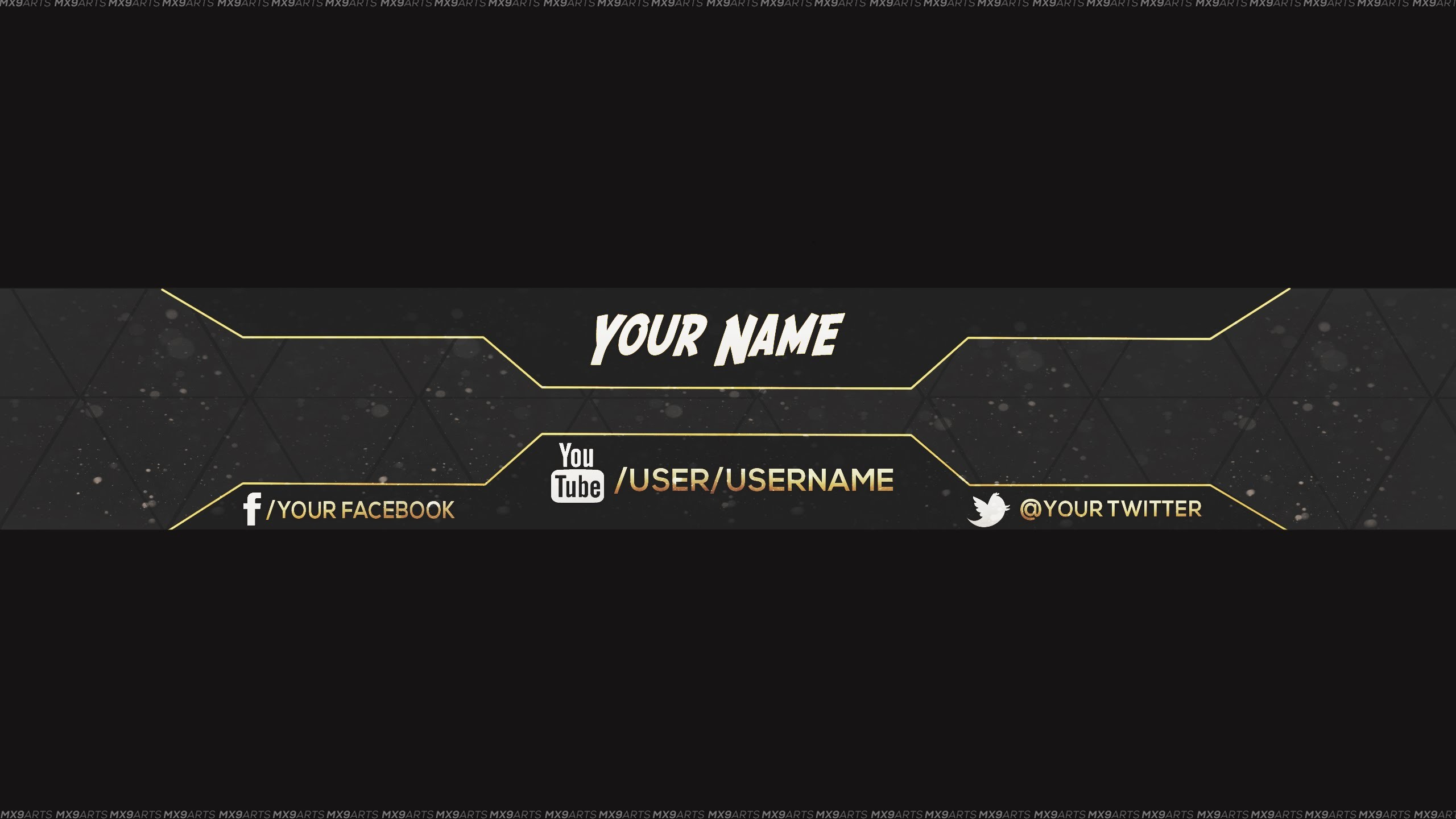[REUPLOAD] FREE Amazing Youtube Channel Banner Template #5 + Direct  Download Link – YouTube