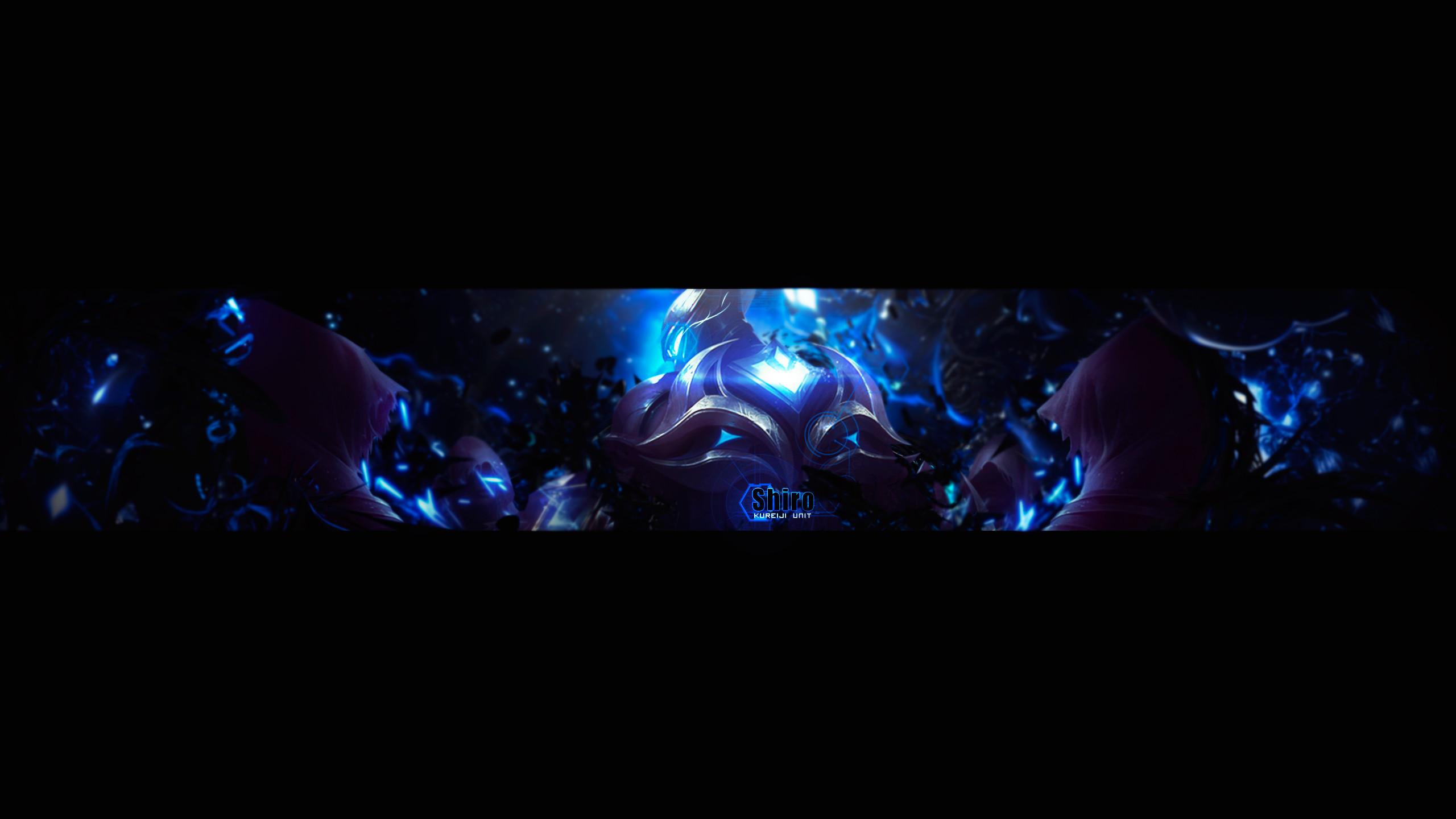 Shiro YouTube Banner by DeyKyra Shiro YouTube Banner by DeyKyra