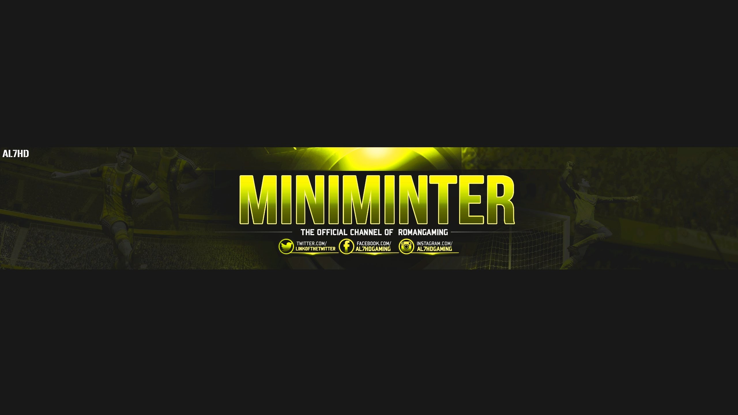 Free GFX: GAMING YOUTUBE BANNER TEMPLATE – FREE PSD FILE (2016/2017)  @miniminter7 – YouTube