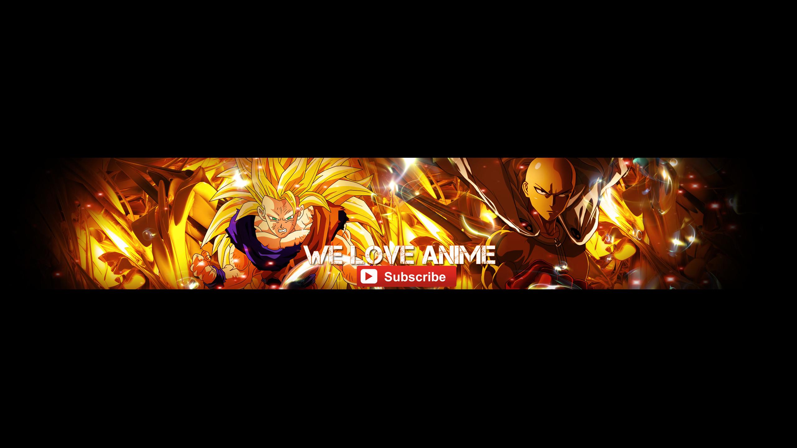 Anime Youtube Banner by ScarletSnowX Anime Youtube Banner by ScarletSnowX