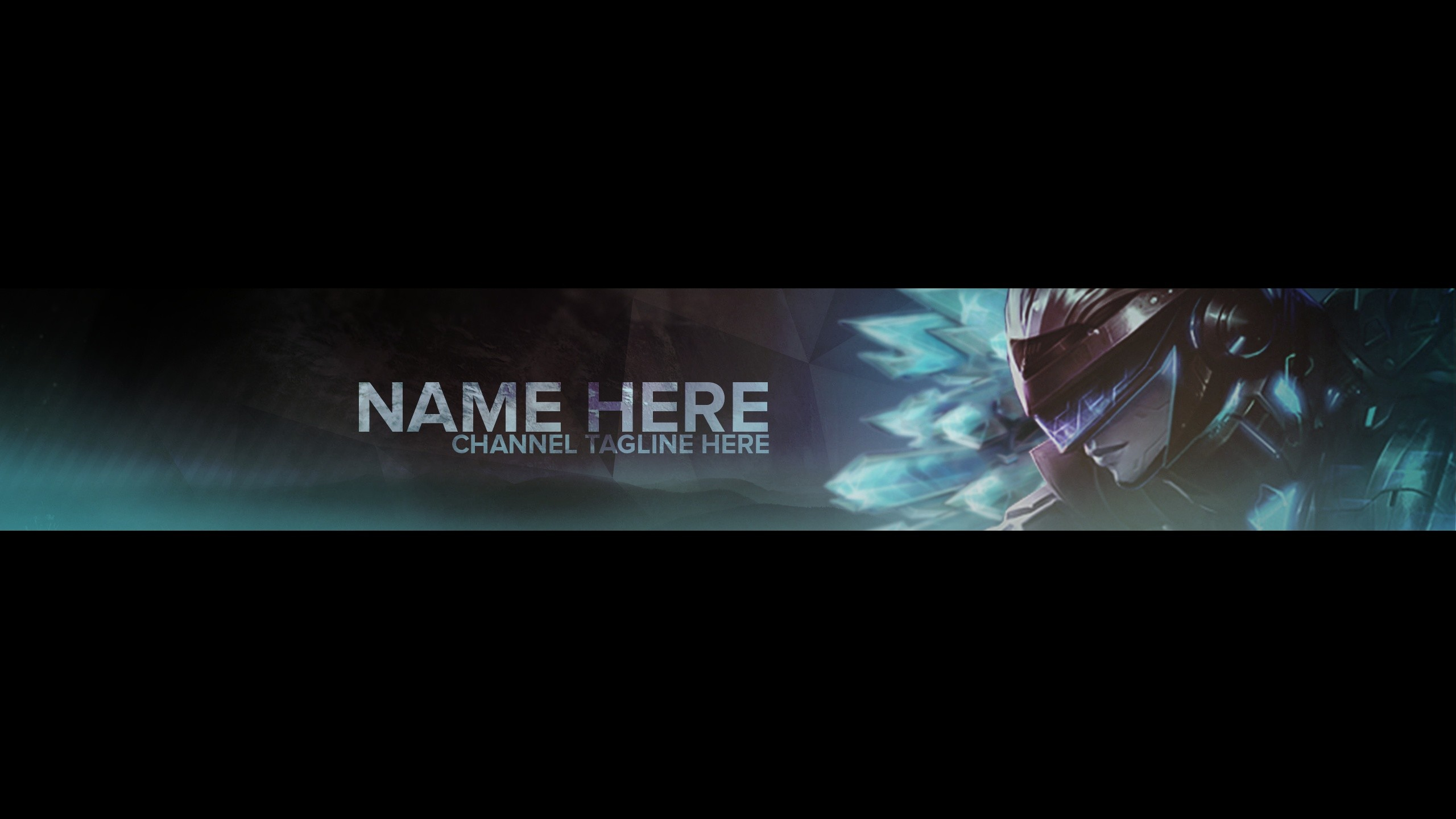 YouTube Banner Template – League of Legends