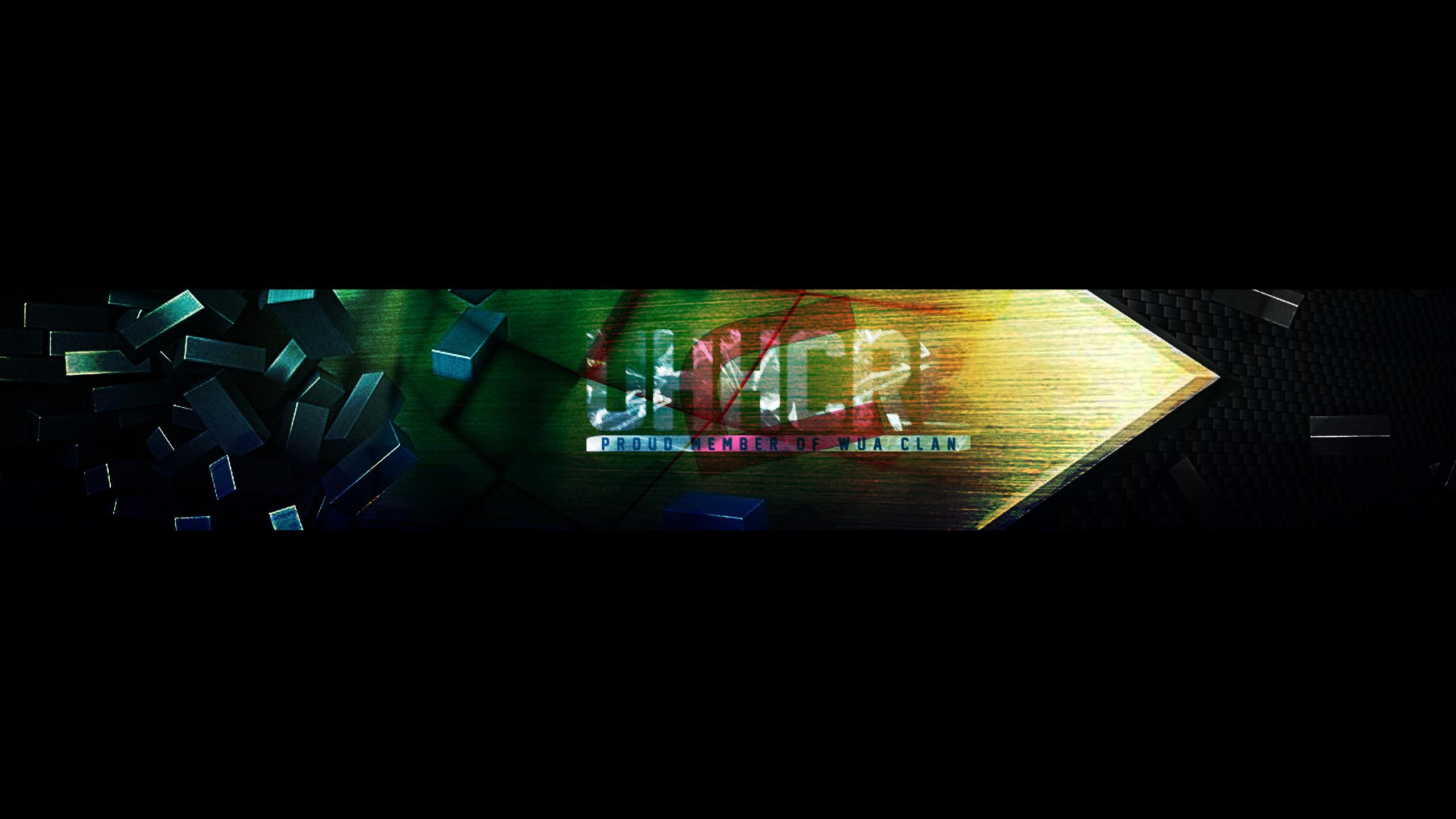… YouTube Banner #4 UhhCre by Nitrousity