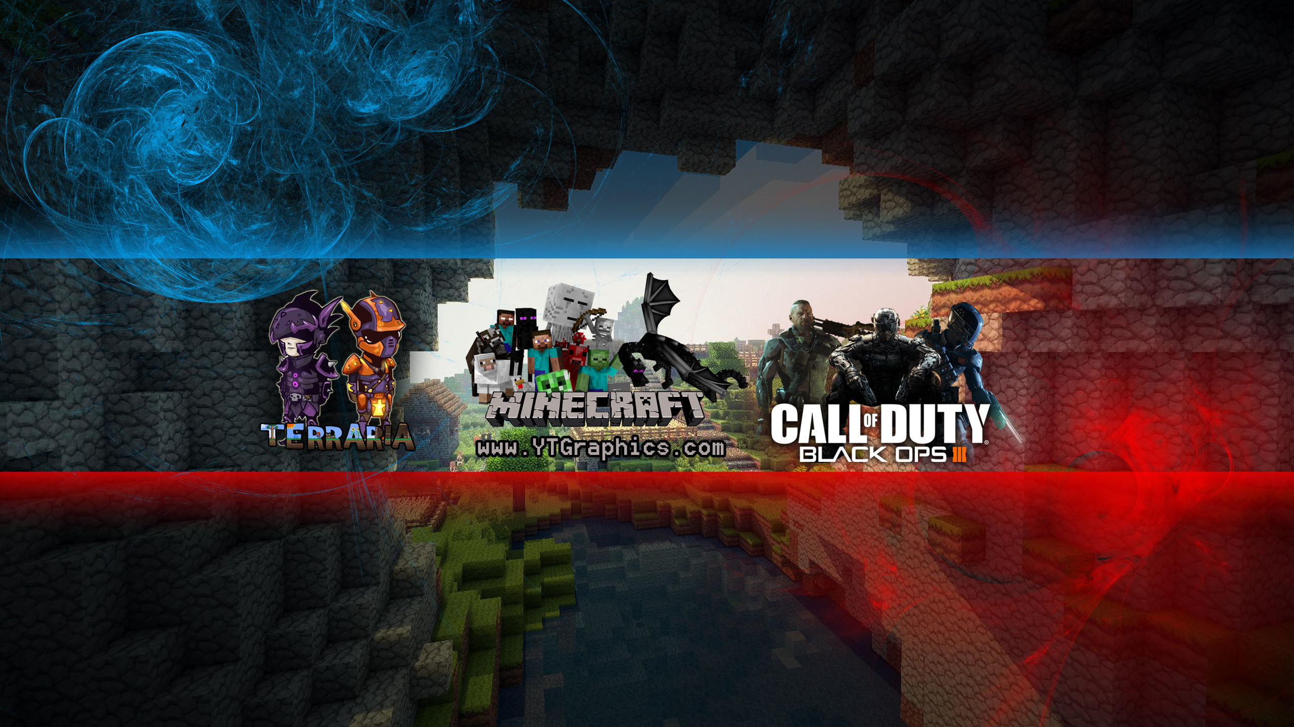 """FREE YouTube Banner: """"MINECRAFT"""" Channel Art – YouTube"""