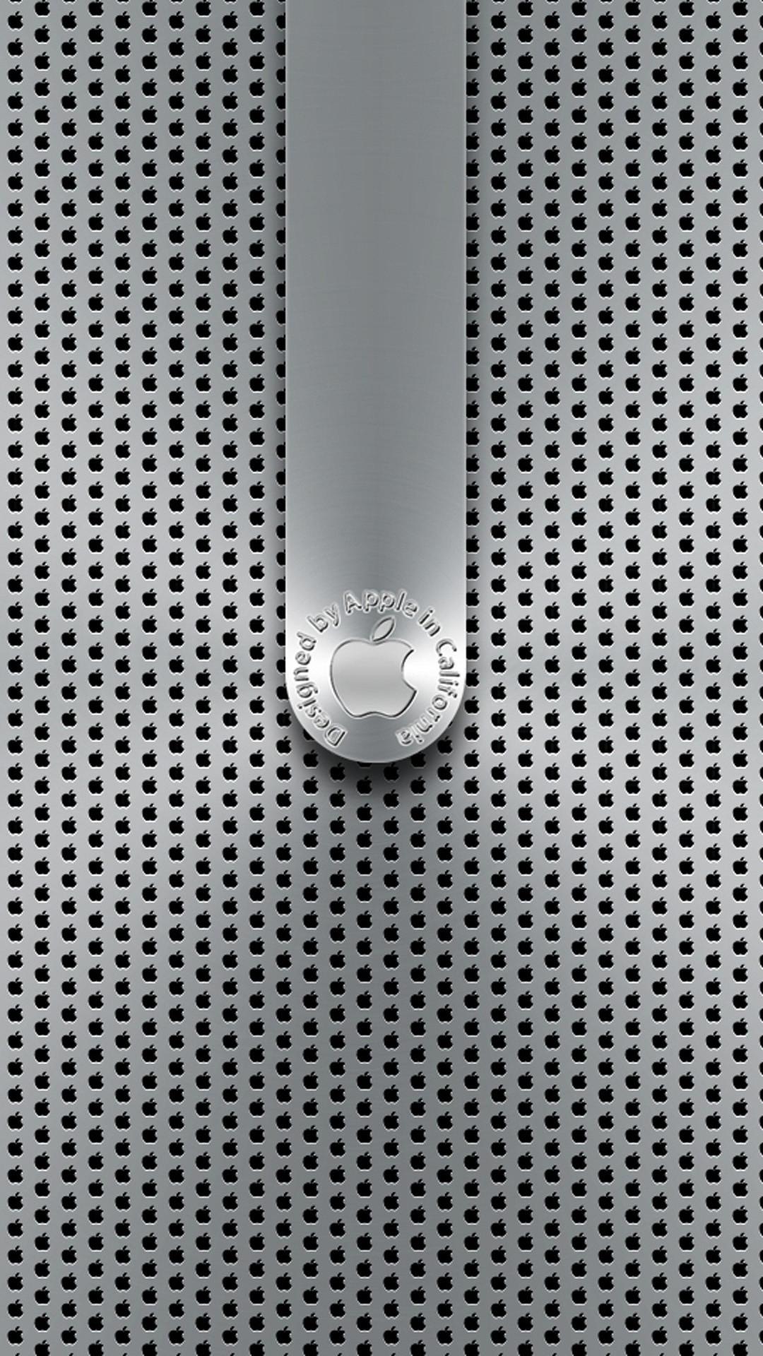 Background Metal apple lockscreen HD Wallpaper iPhone 6 plus