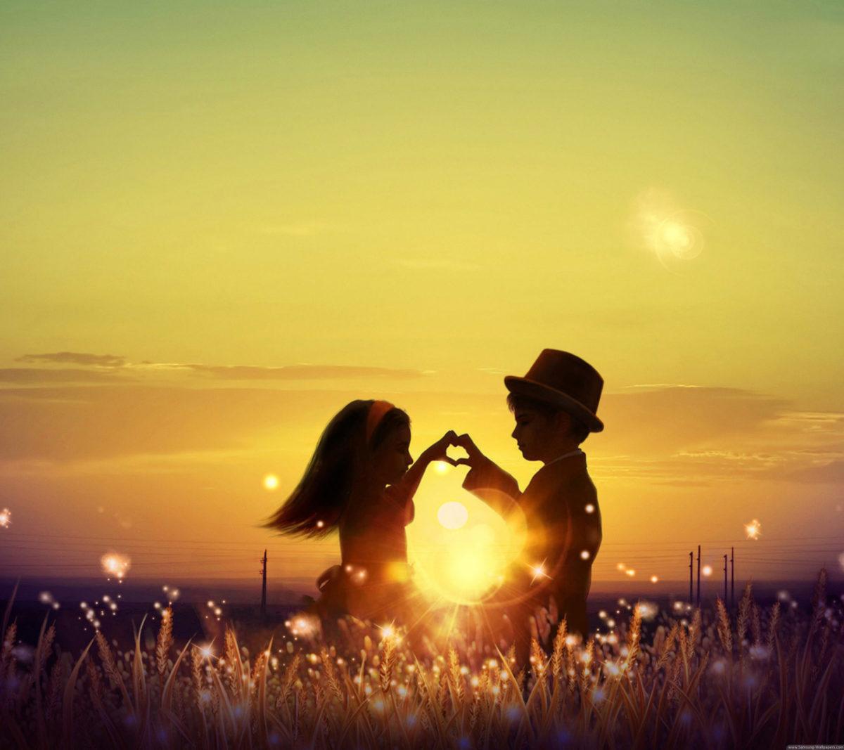 Cute Child Love Lock Screen Hd Samsung Galaxy Note 3 Wallpaper