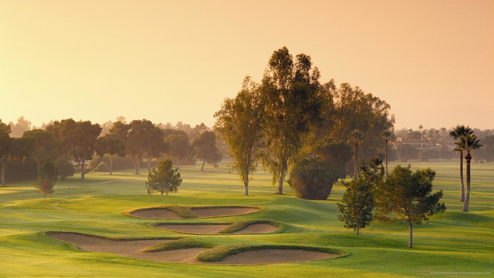 Golf Course HD Wallpaper picture