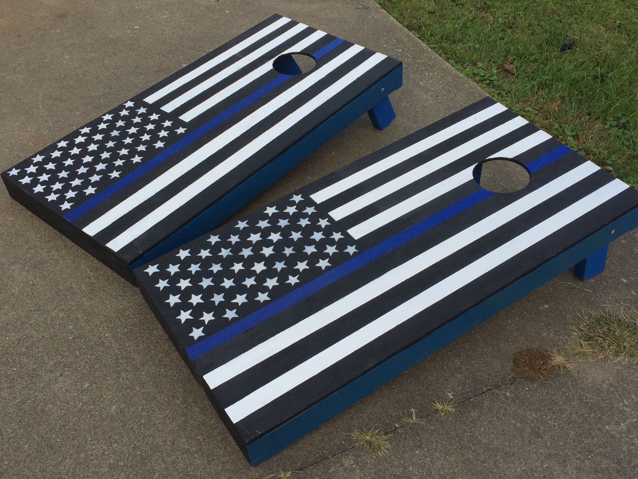 Thin Blue Line. Products. See More. Police Lives matter corn hole set