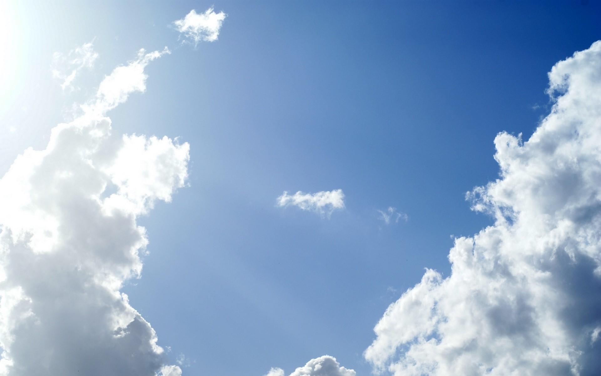 blue sky wallpaper