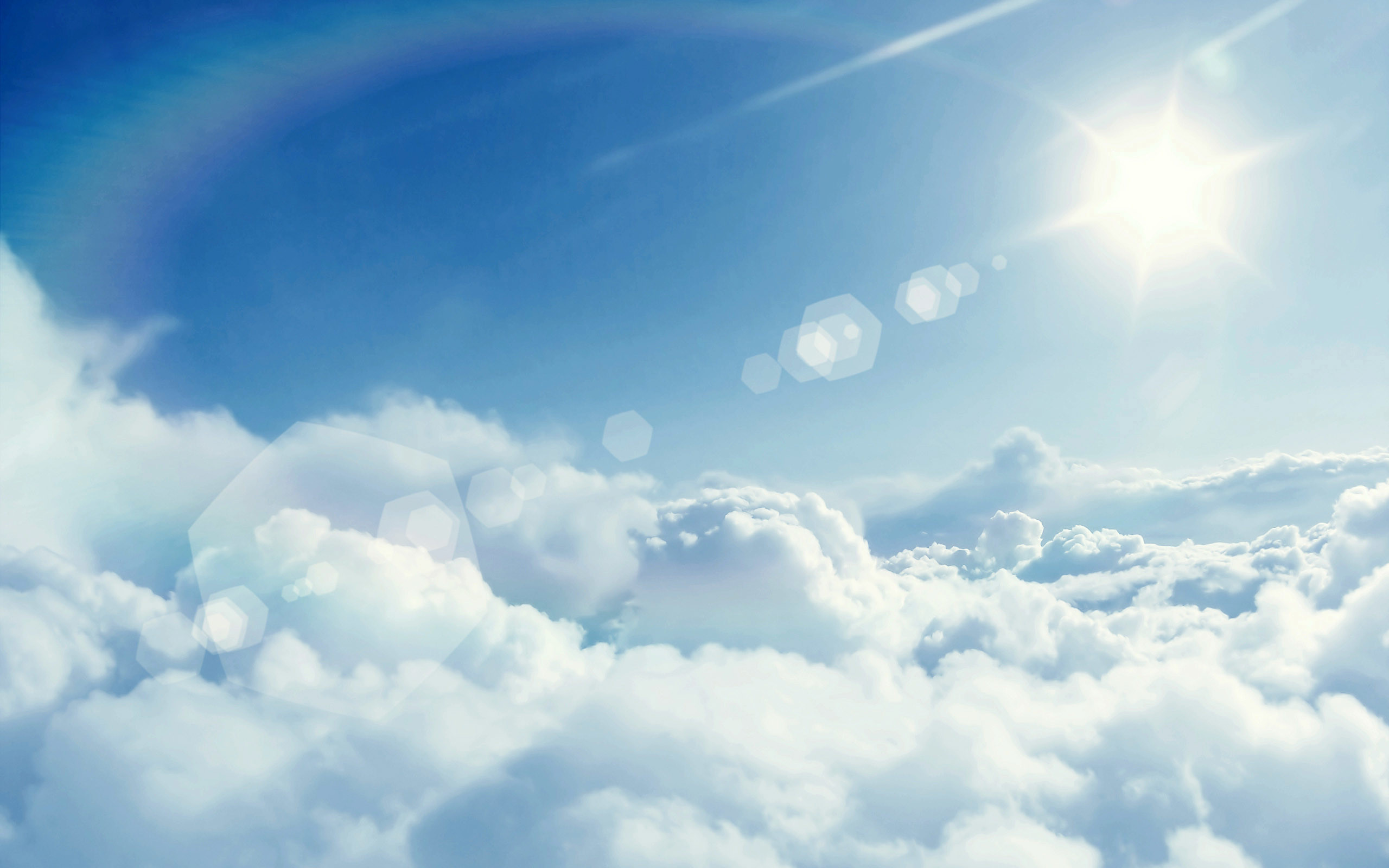 Cloud Wallpaper · Cloud Wallpaper free powerpoint background. Hearts With  Clouds And Blue Sky …