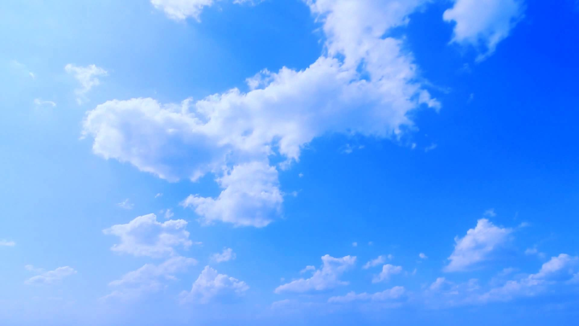 Deep Blue Sky – Clouds Timelapse – Free Footage – Full HD 1080p – YouTube