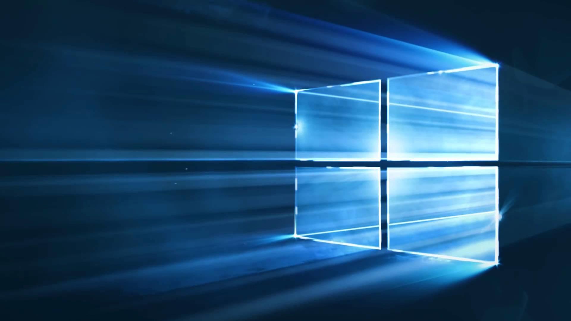 Windows 10 'Hero' logo animated loop