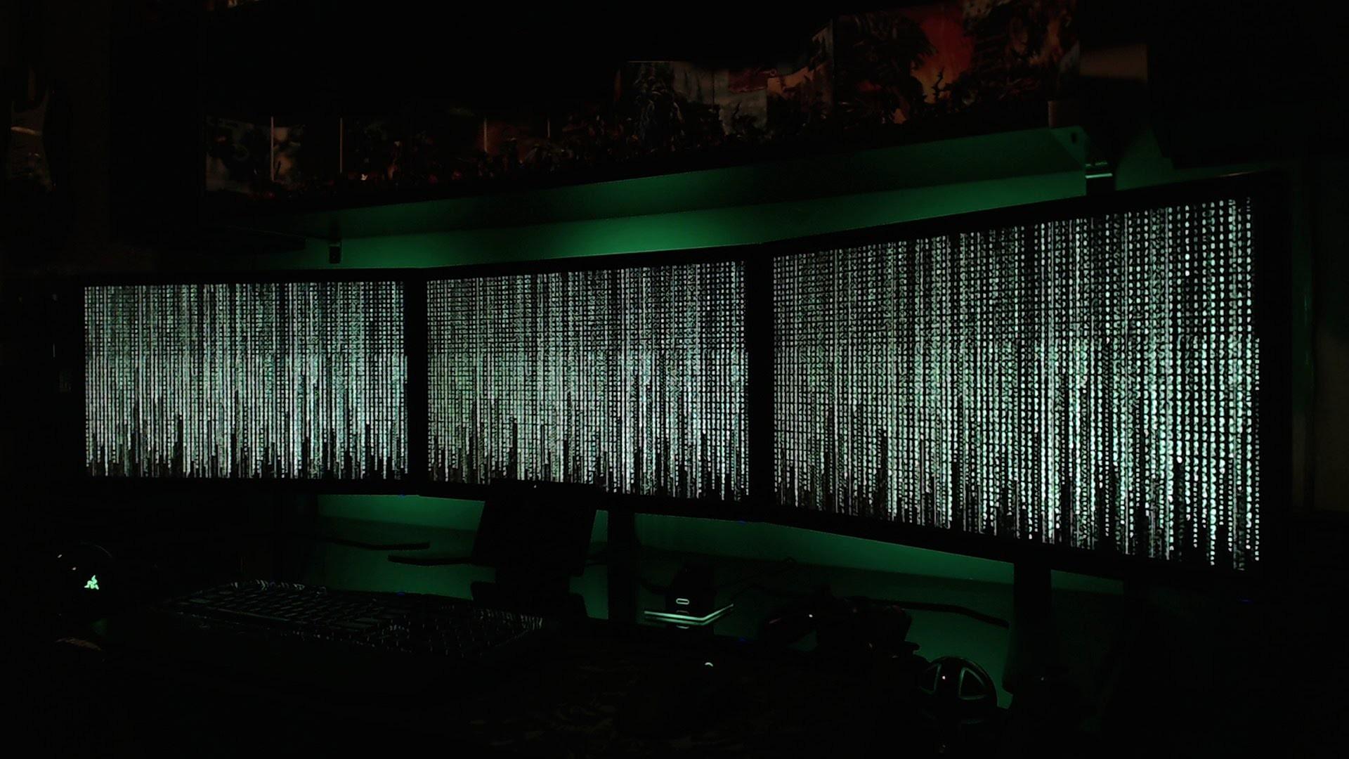 The Matrix (Preview) on Eyefinity (5760×1080) – Screensaver for  Eyefinity/Surround – YouTube