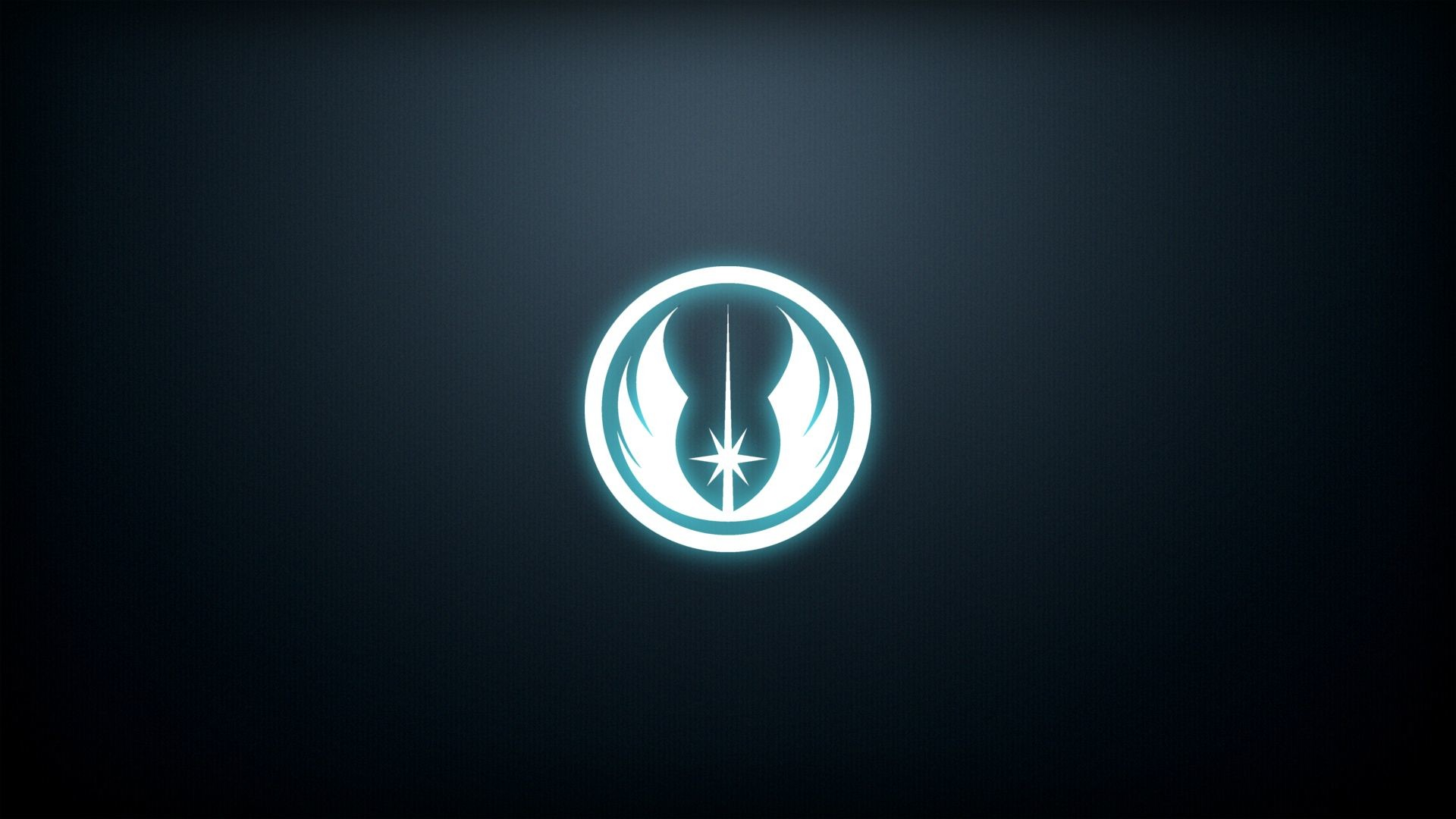 A wallpaper you guys might like. The Jedi Order emblem. I'll do a Sith one  too if people want me to. [1920×1080].