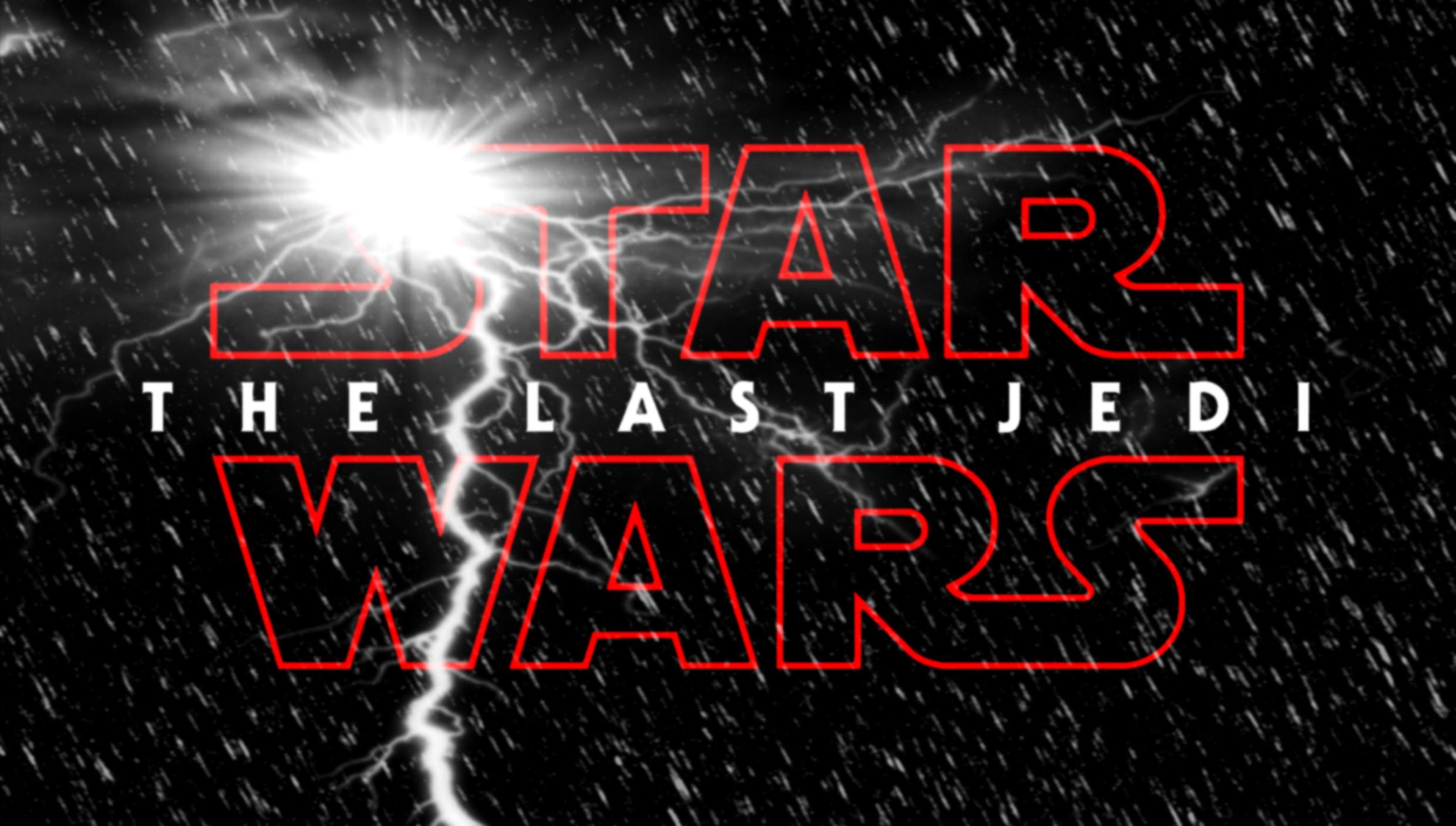 … Star Wars Episode VIII: The Last Jedi (logo art) by Jones6192