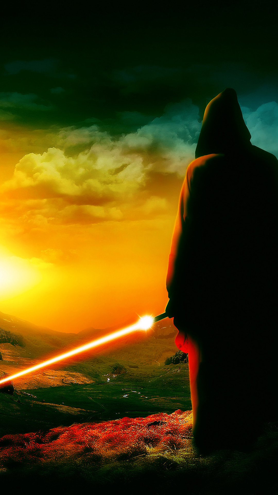 Awaiting The Jedi 002 mobile wallpaper thumbnail