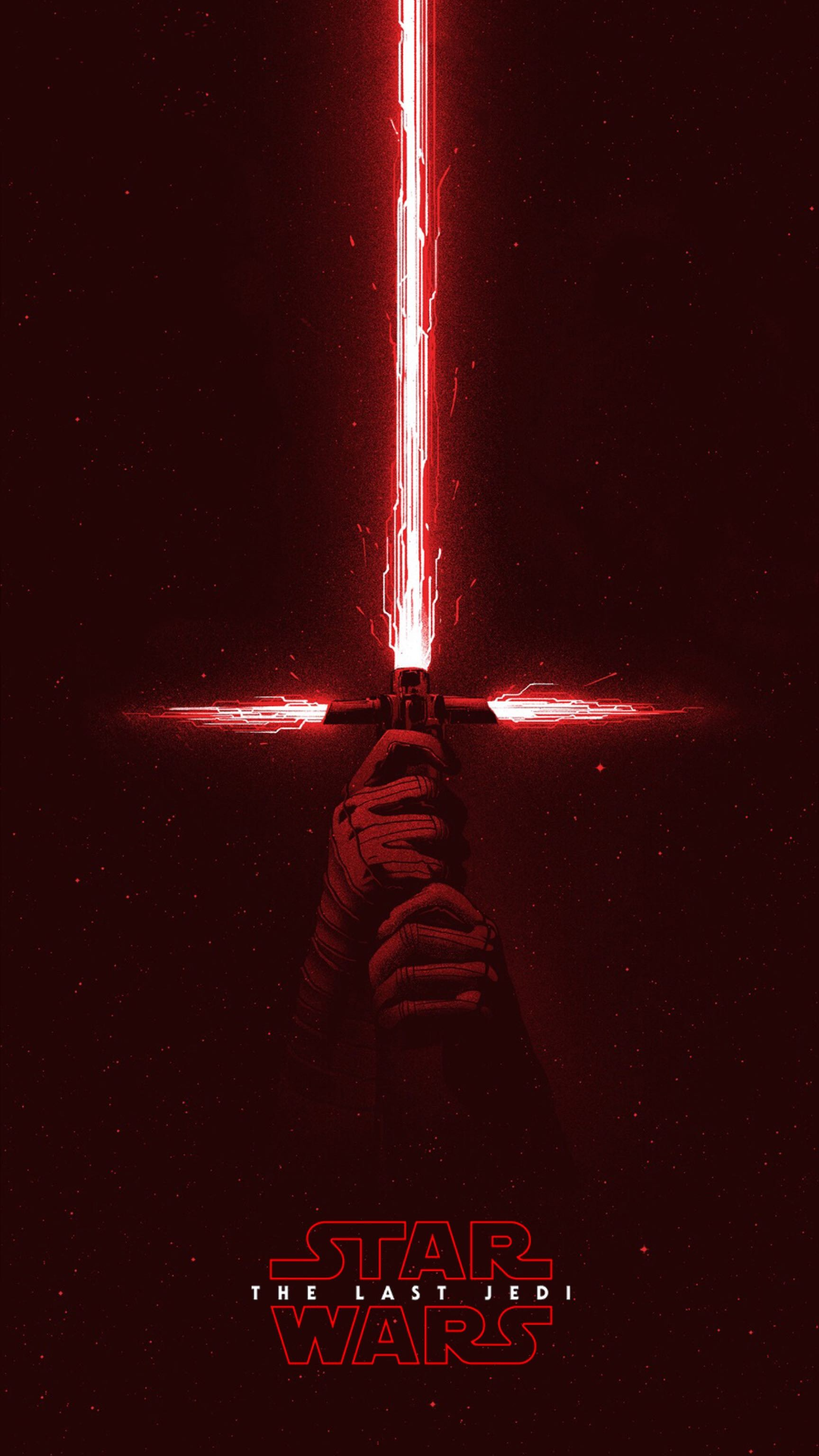 The Last Jedi Kylo Ren…heaven help us if he's the last Jedi