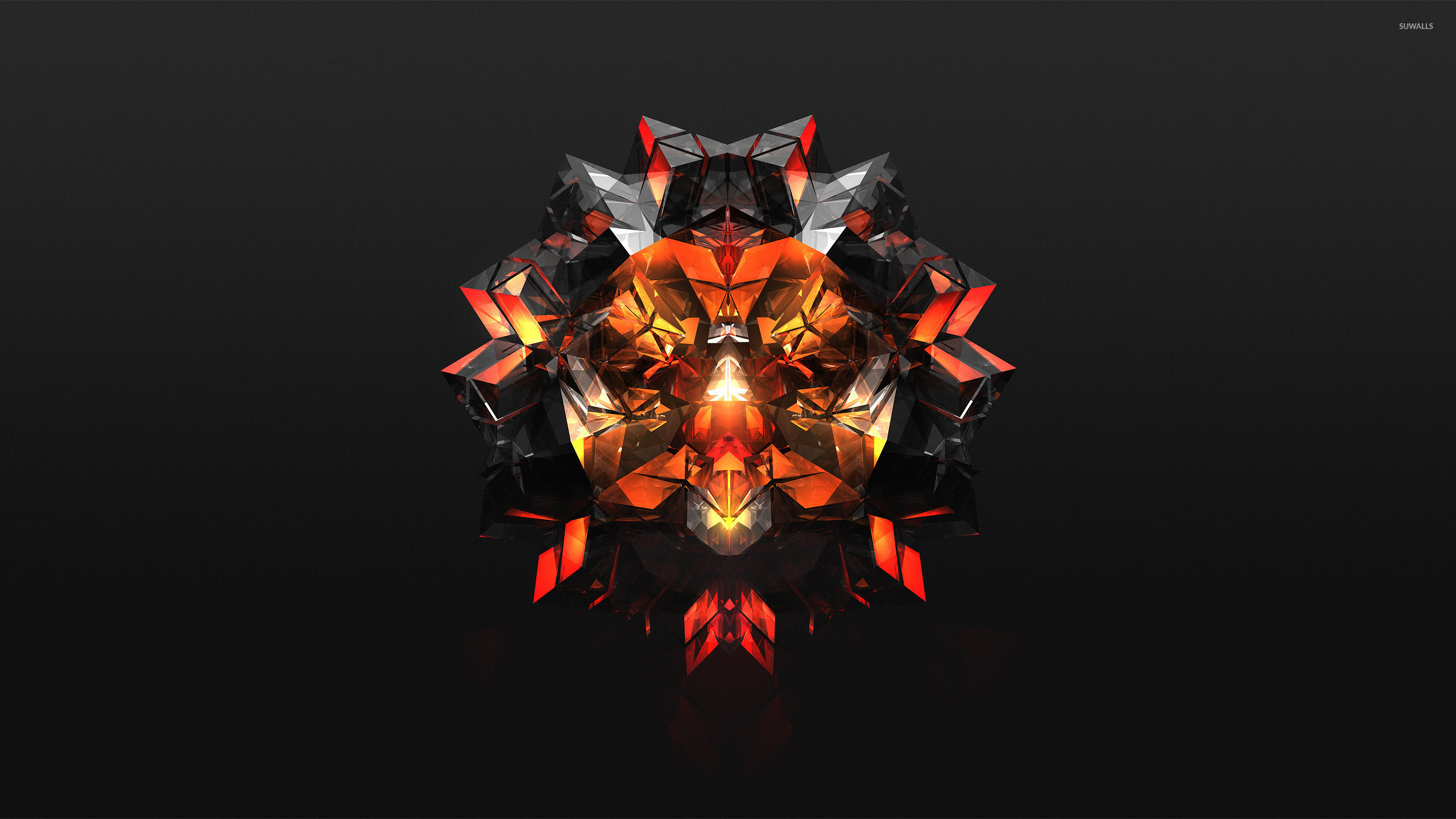 Black and orange diamond wallpaper jpg