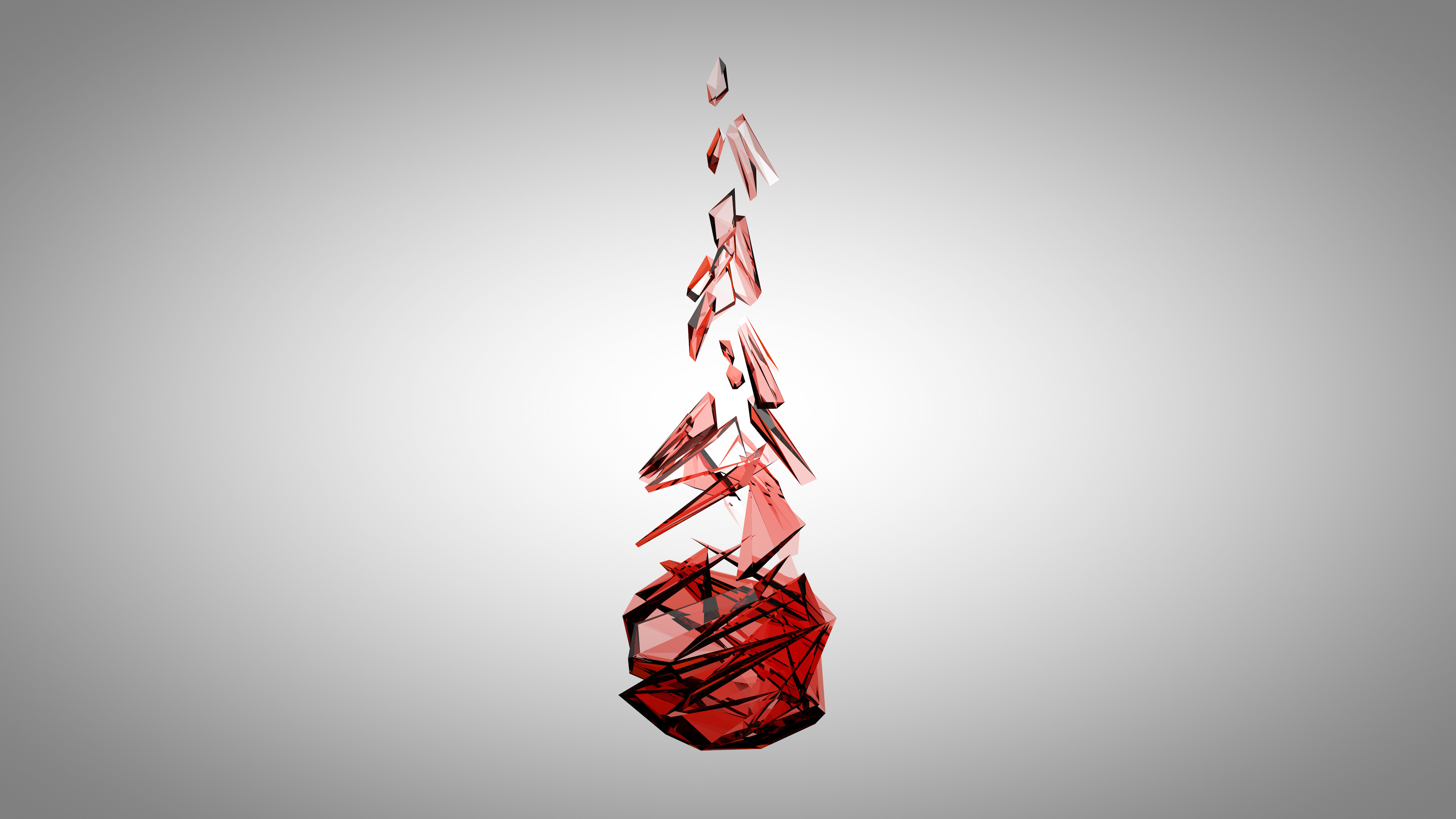 … Red Facet (4K) by raj3n