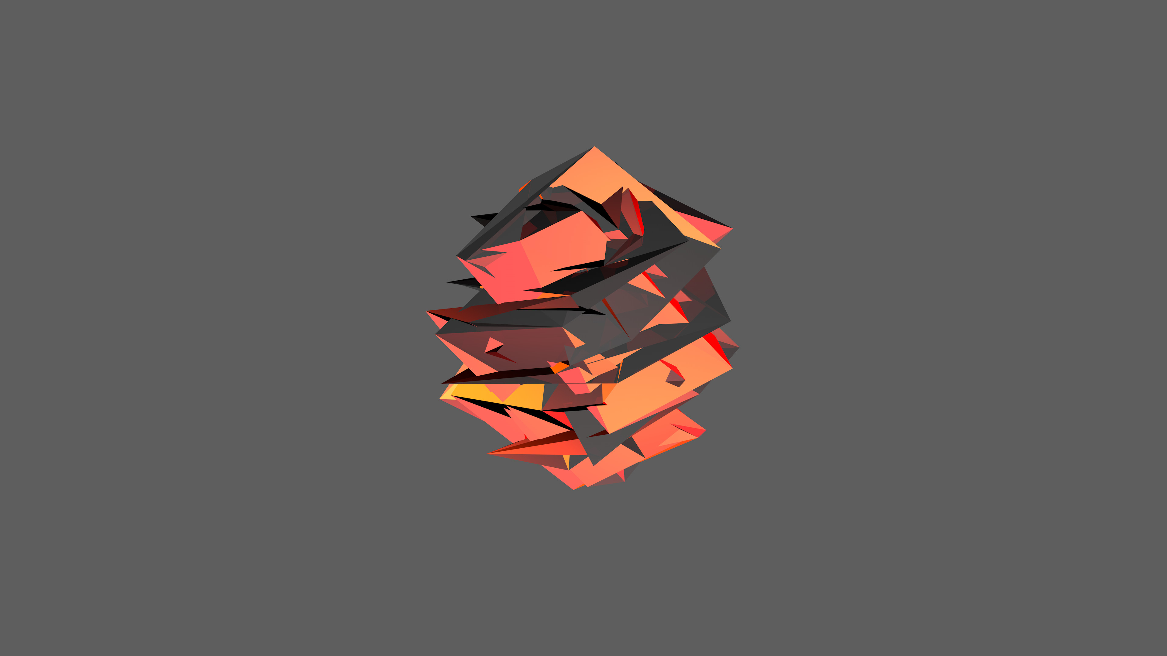 Orange Facet 4k by raj3n Orange Facet 4k by raj3n
