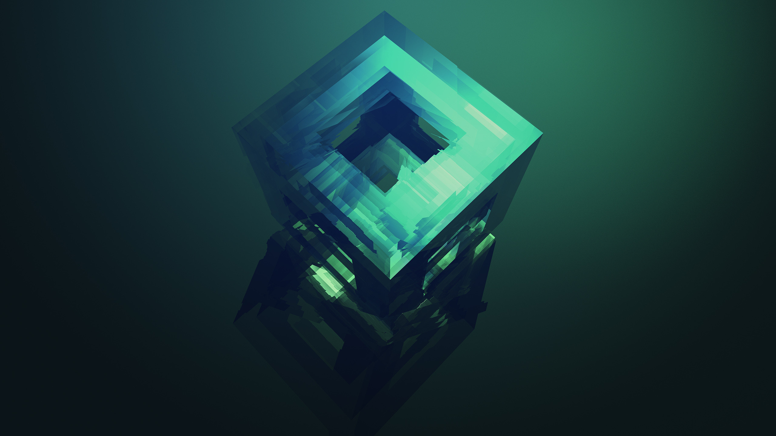 Wallpaper from Justin Maller's FACETS collection
