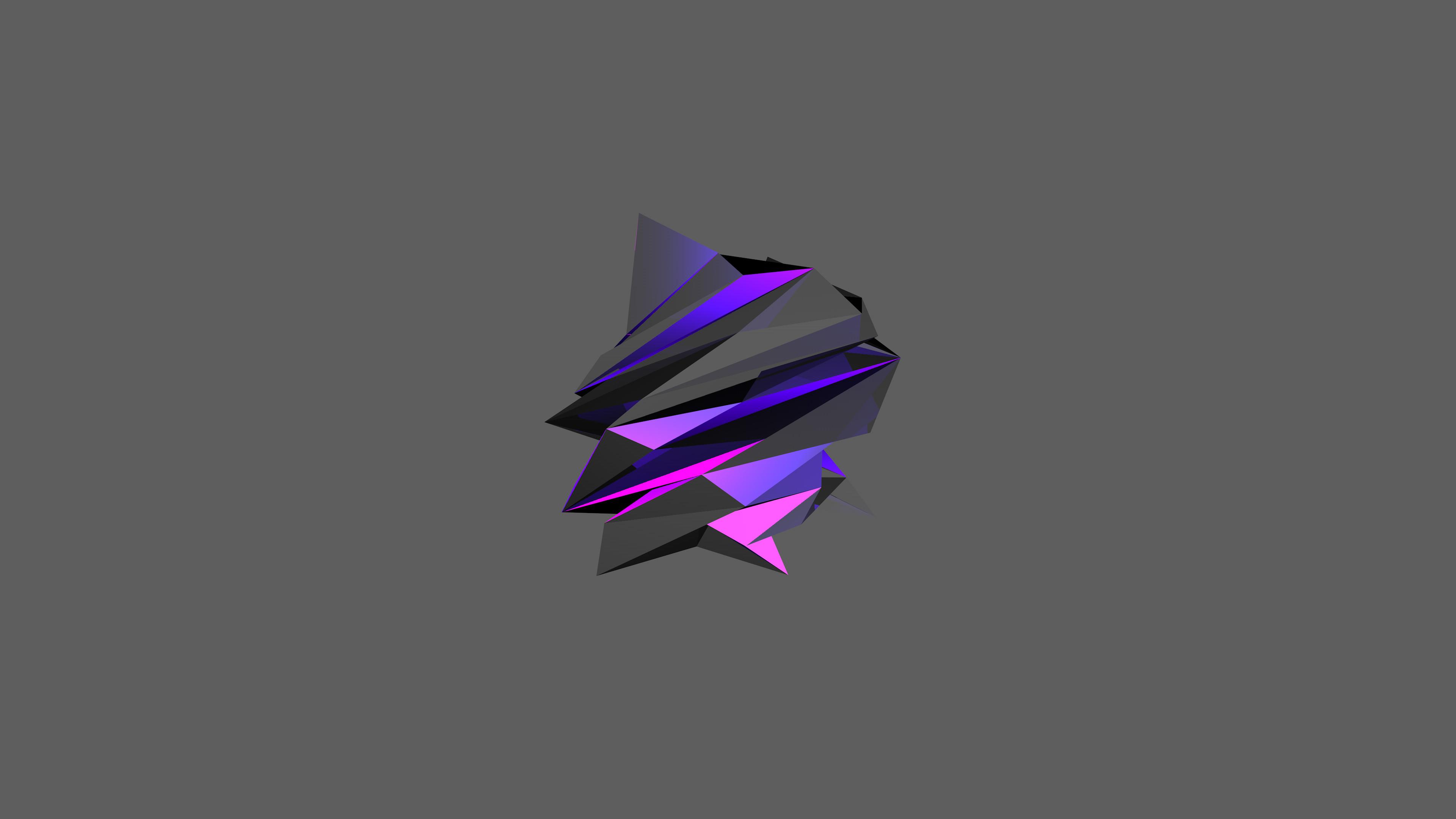 … Purple Facet material (4K and HD) by raj3n