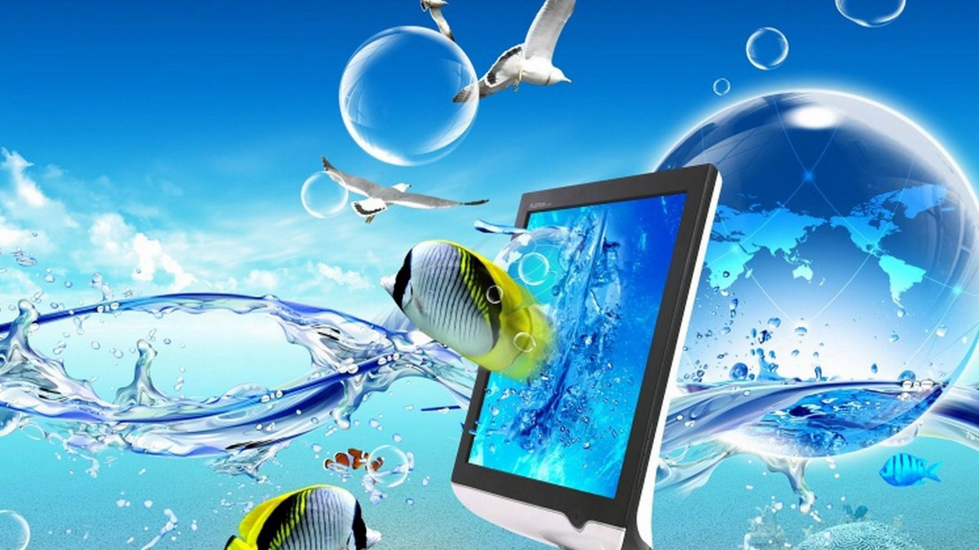 3d laptop images for desktop desktop wallpapers high .
