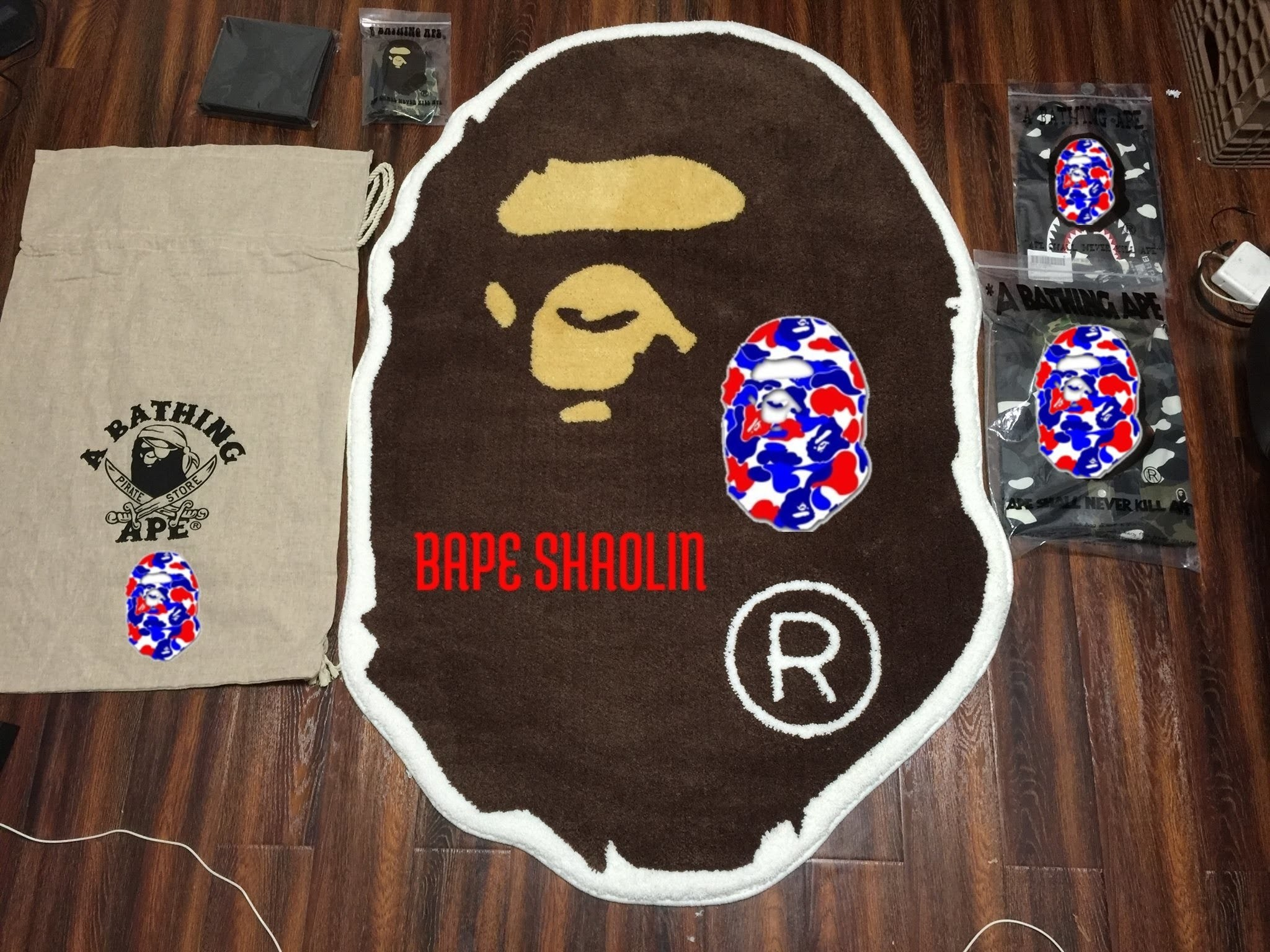 050 Bape Shaolin | Bape | A Bathing Ape | Unboxing | Clothing | Collection  | Outfit | Pickup |Review