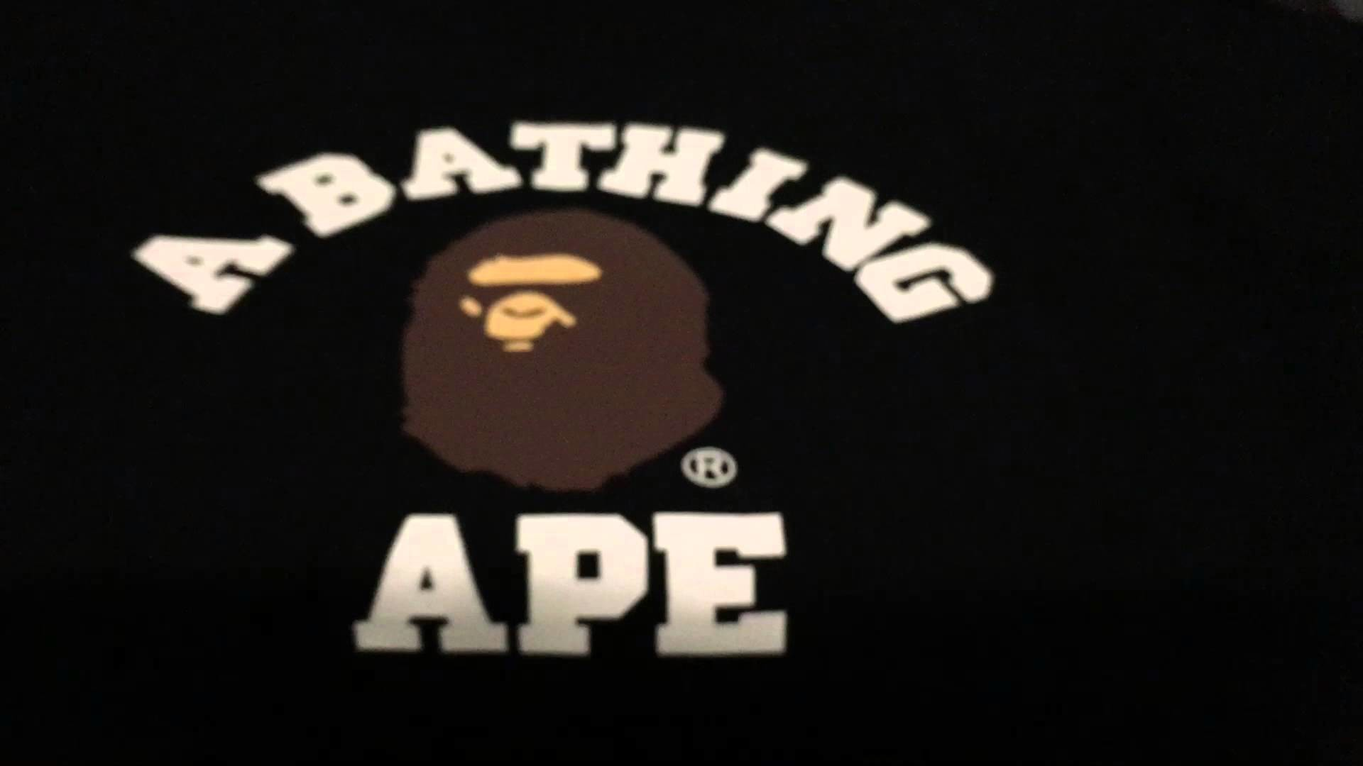 A Bathing Ape Bape College/OVO Jordan Tshirt