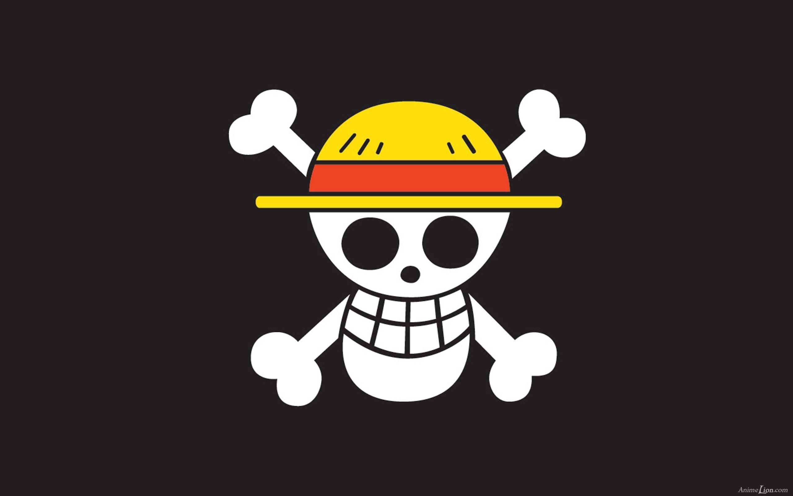 … One Piece Logo Wallpaper