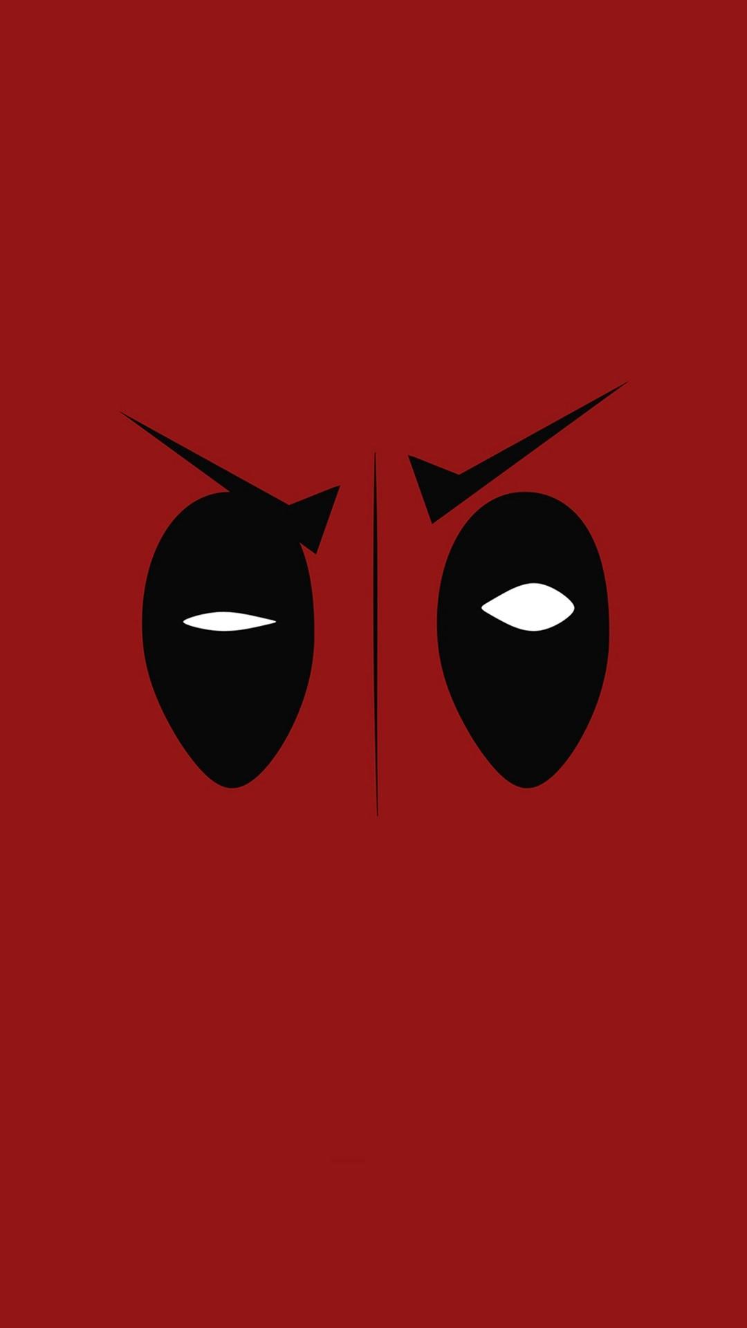 Deadpool Hero Eye Logo Art Film #iPhone #7 #wallpaper