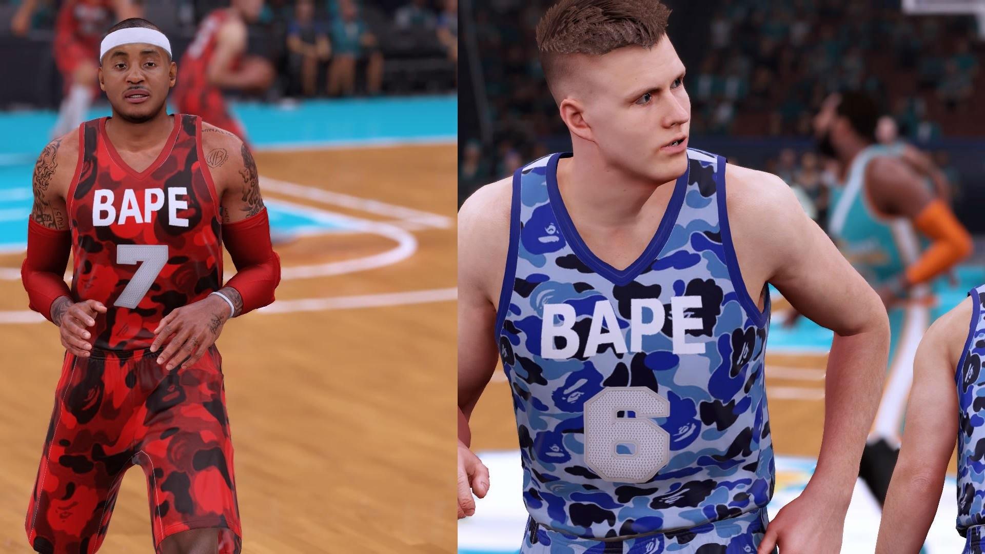 New York Knicks x A Bathing Ape NBA 2K16 Rebrand