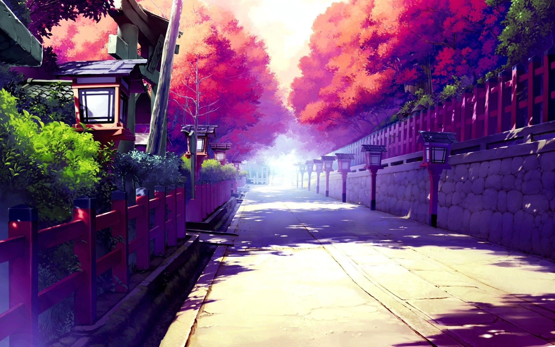 Japanese Street Anime