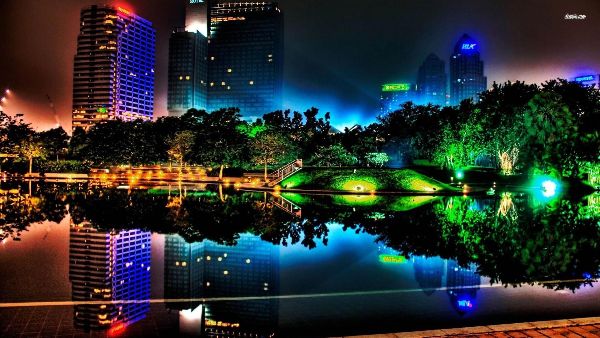 Japan cityscapes futuristic digital art artwork wallpaper