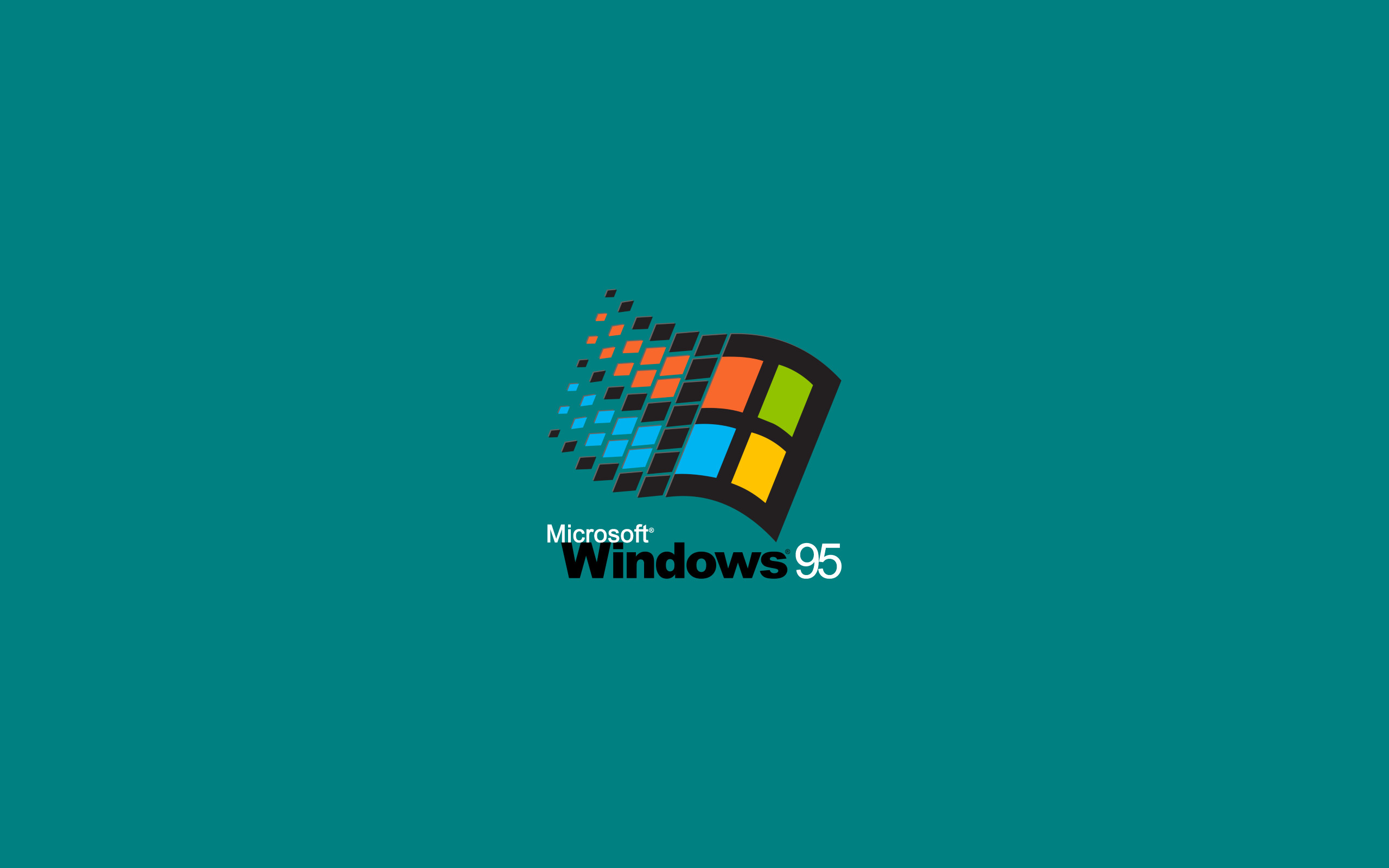 Windows 95 2048×1152 Resolution