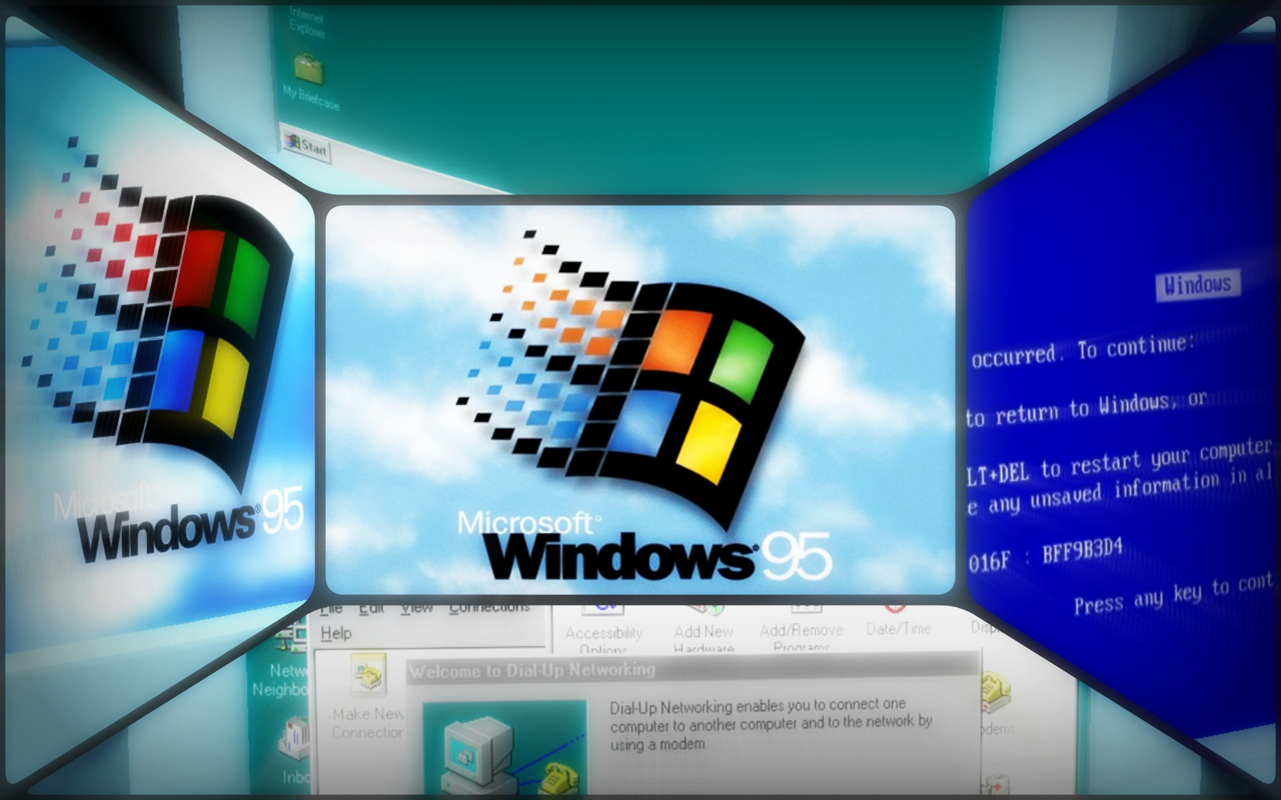 Windows 95 Monitor Screens …