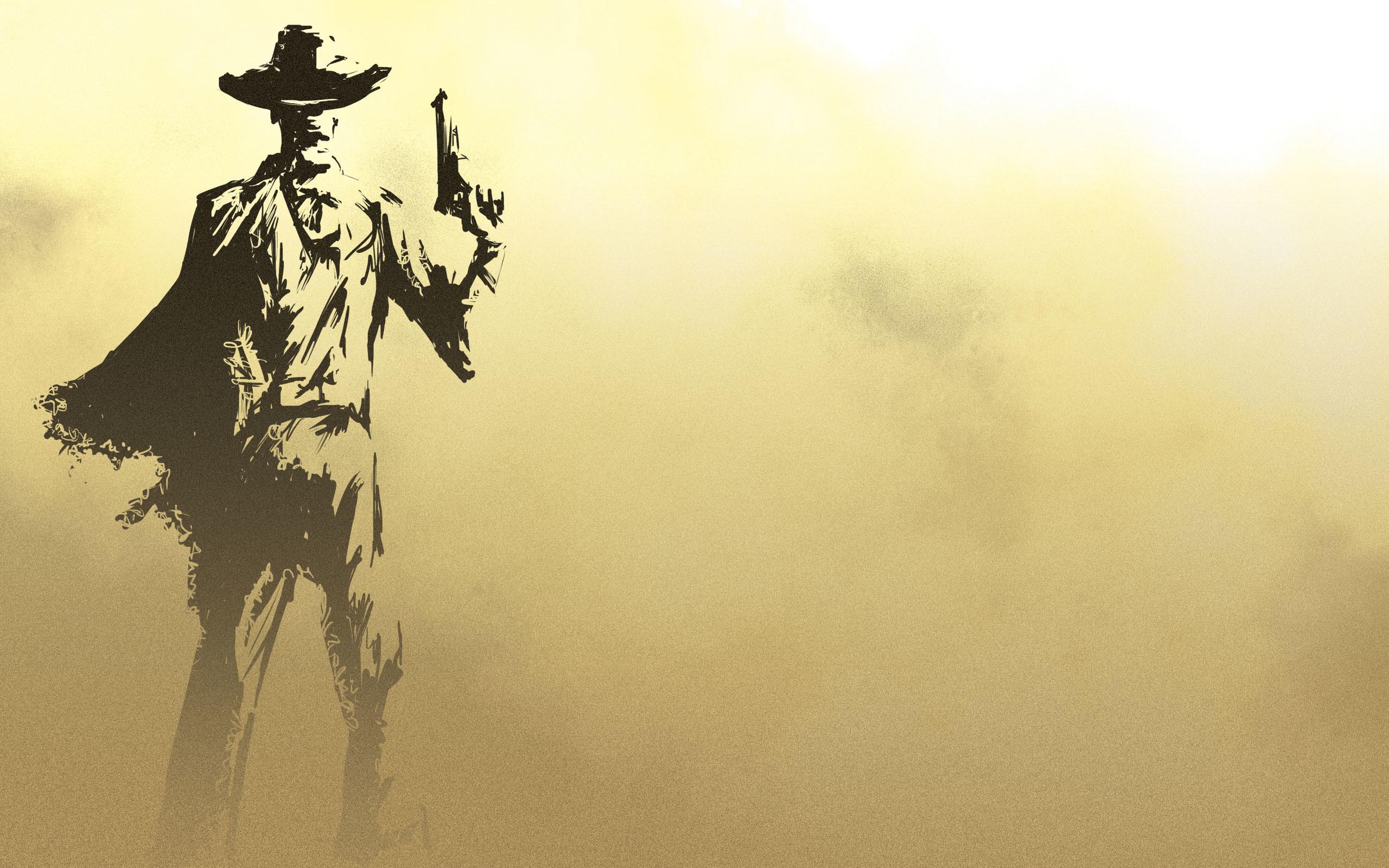 Gorgeous Cowboy Wallpaper.