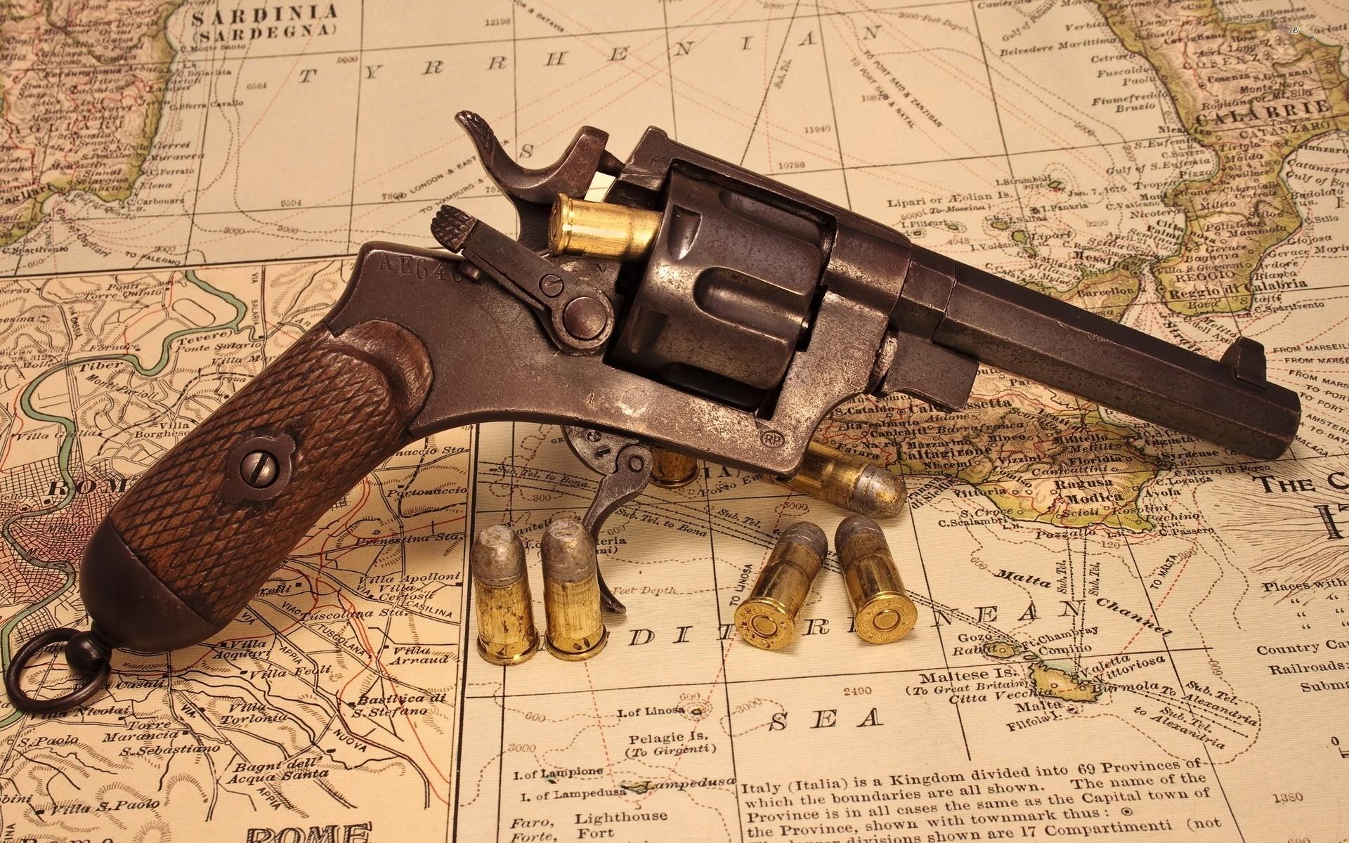 Old Western Gun Wide Desktop Background wallpaper free